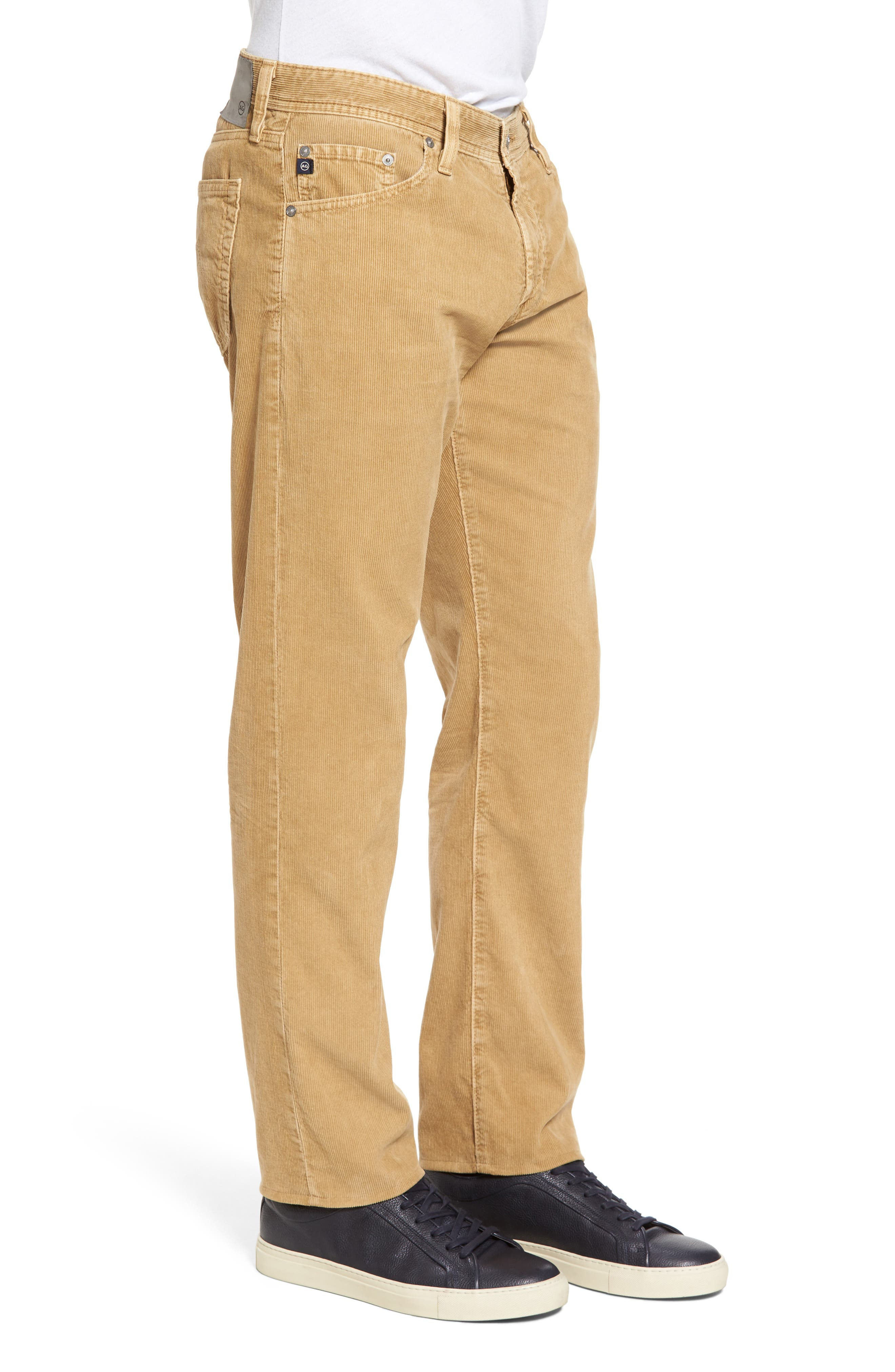 'Graduate' Tailored Straight Leg Corduroy Pants,                             Alternate thumbnail 32, color,