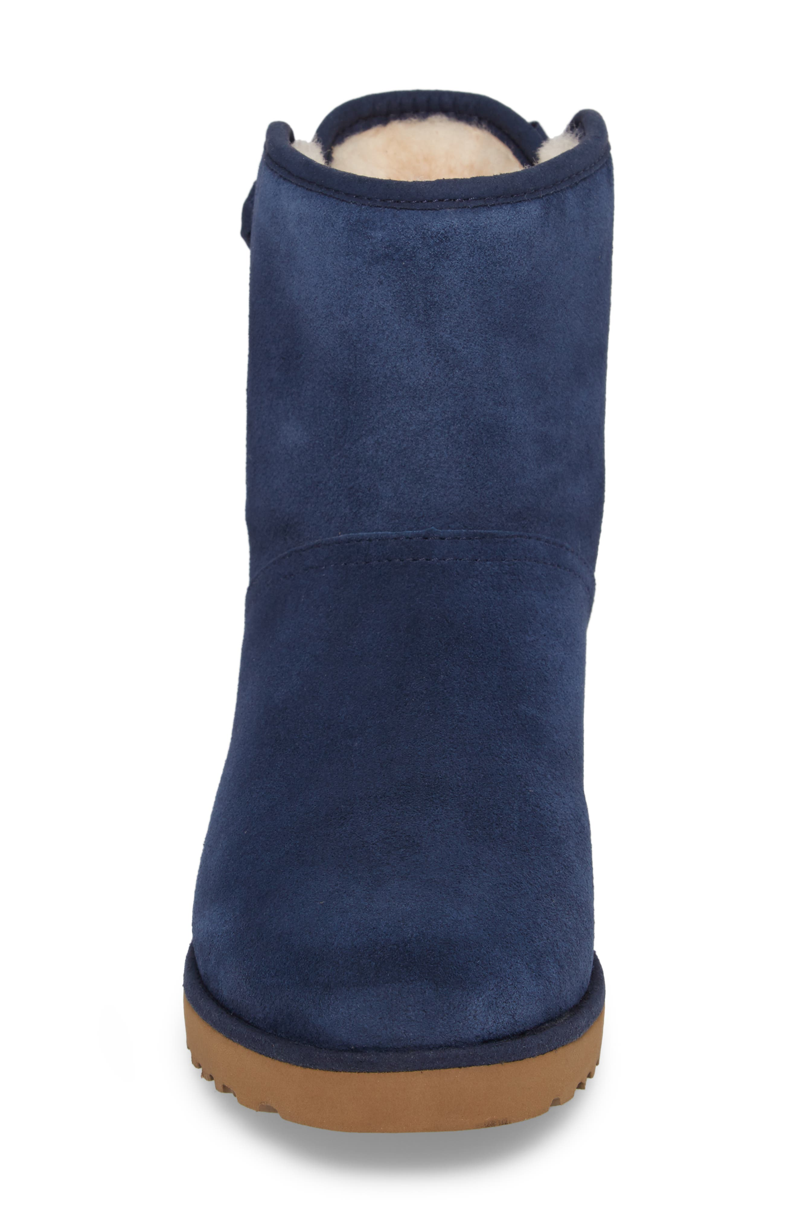 Drew Sunshine Perforated Tie Back Boot,                             Alternate thumbnail 12, color,