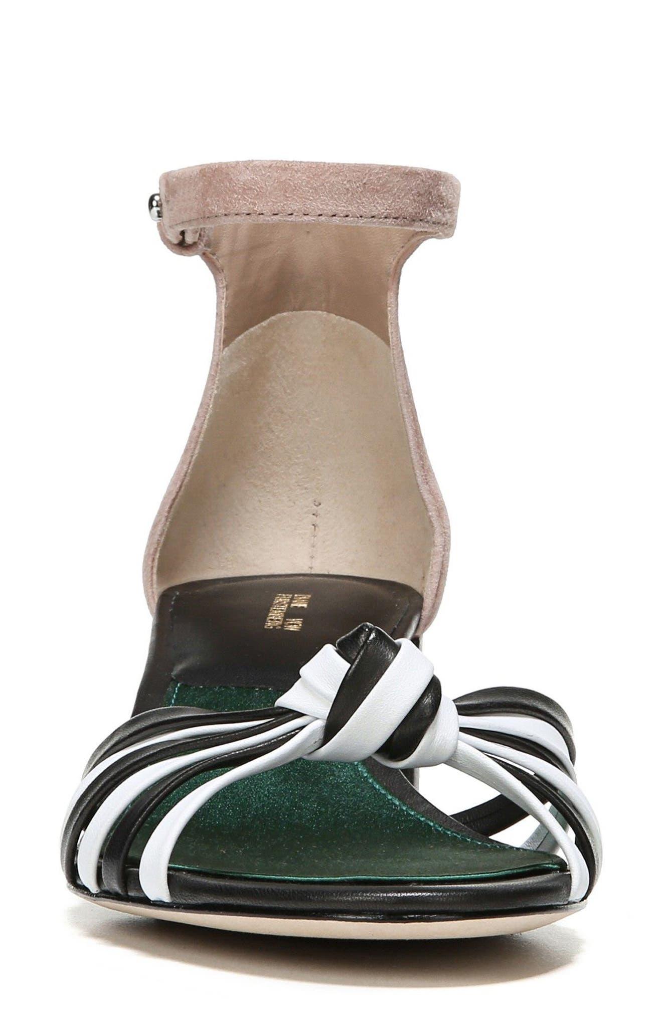 Fonseca Ankle Strap Sandal,                             Alternate thumbnail 4, color,                             001