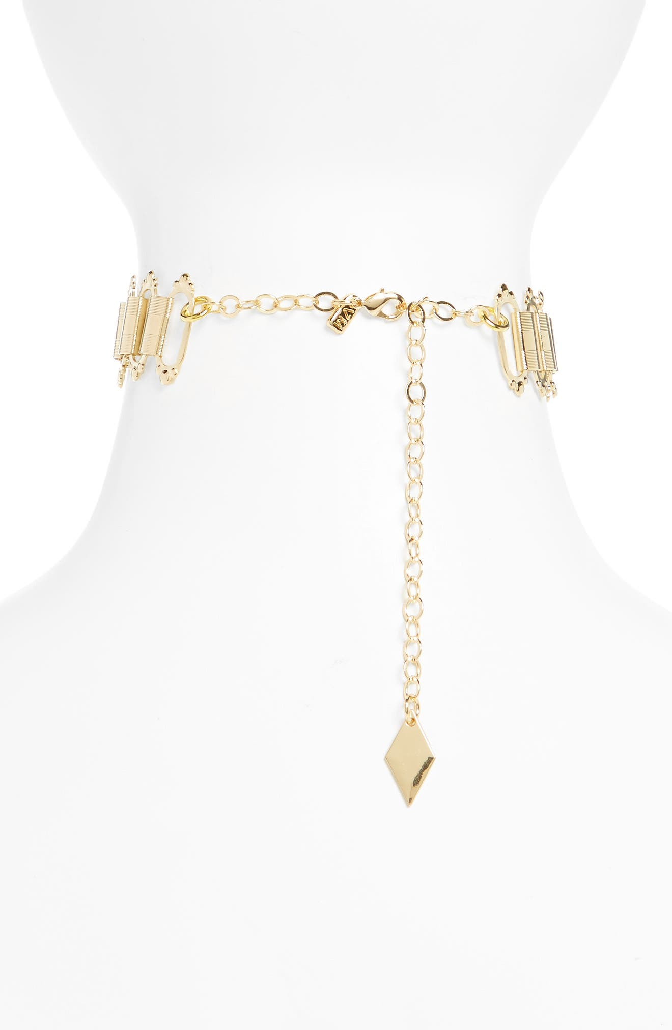 Sulai Choker Necklace,                             Alternate thumbnail 2, color,                             710