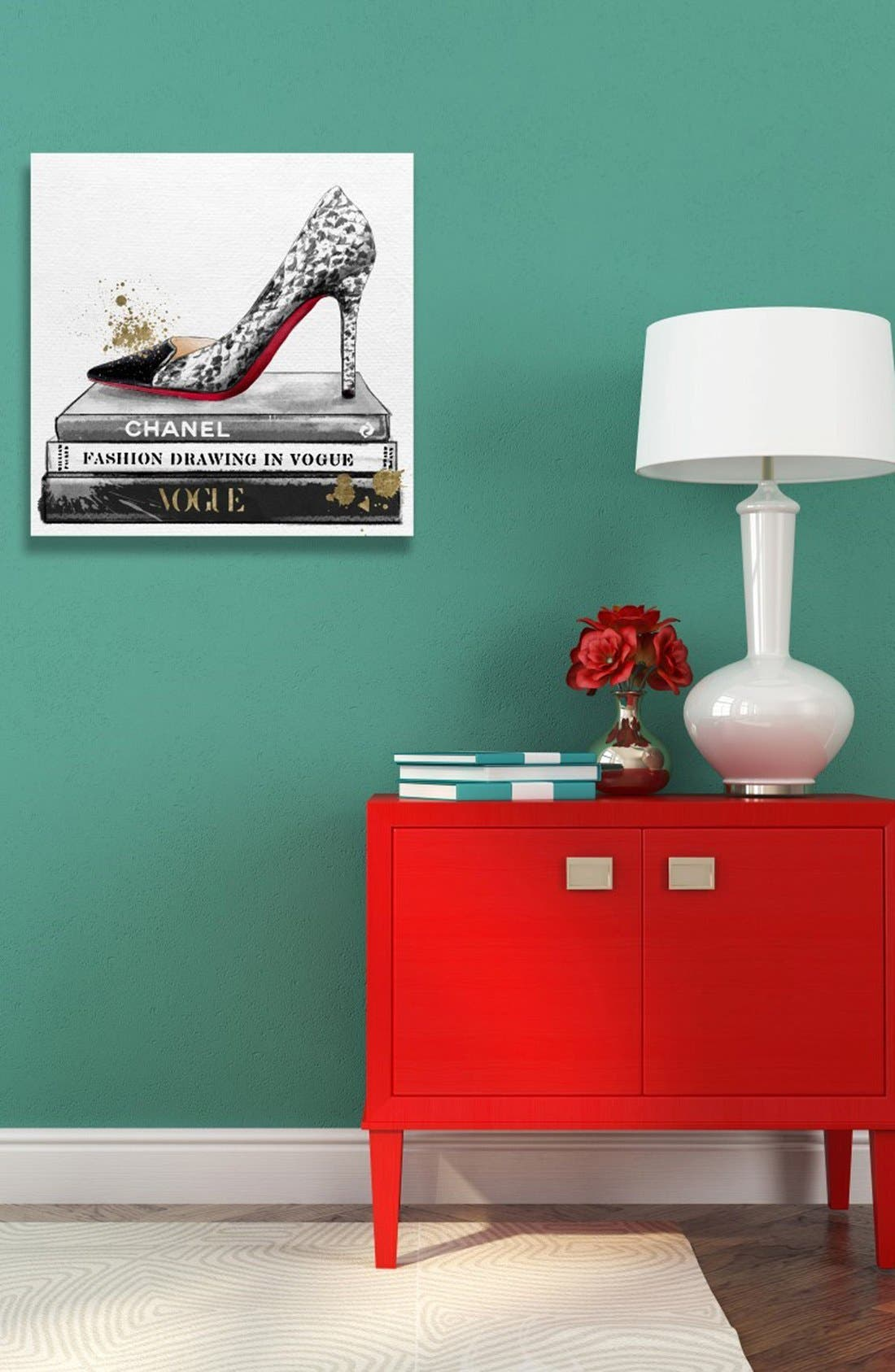 'Limited Editions' Canvas Wall Art,                             Alternate thumbnail 5, color,                             900