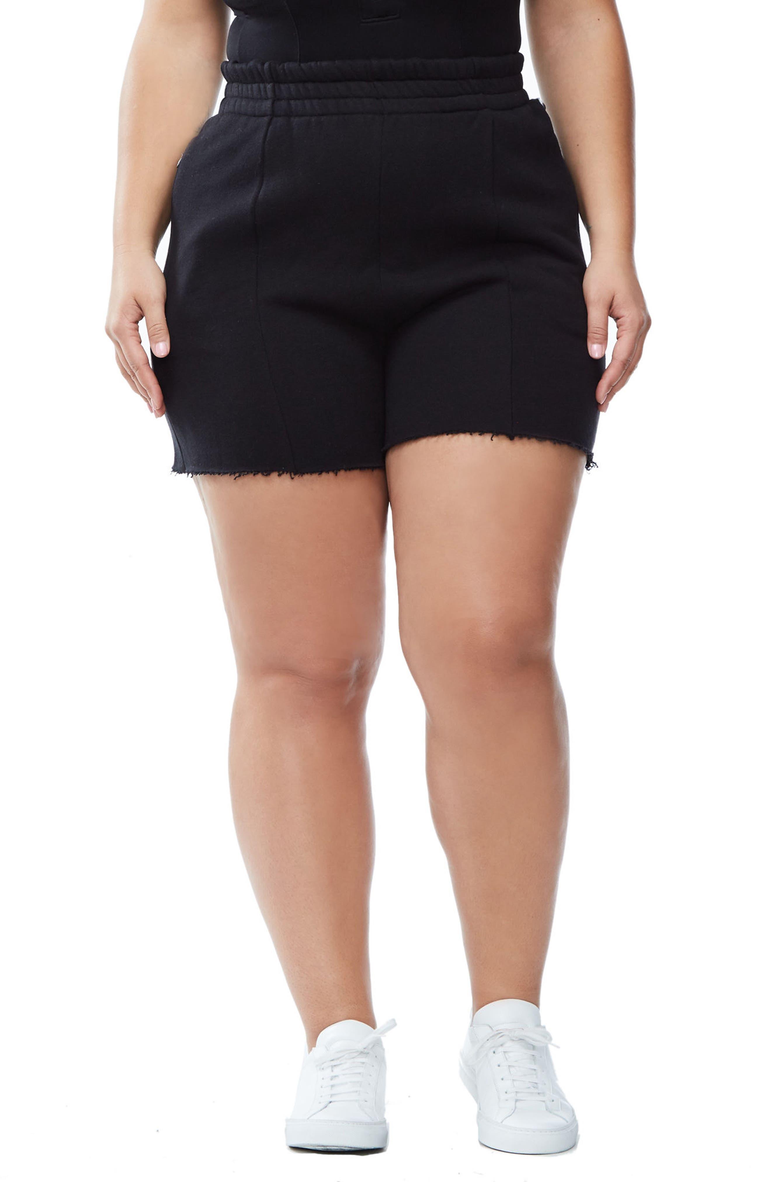 Good Sweats The High Waist Shorts,                         Main,                         color, 002