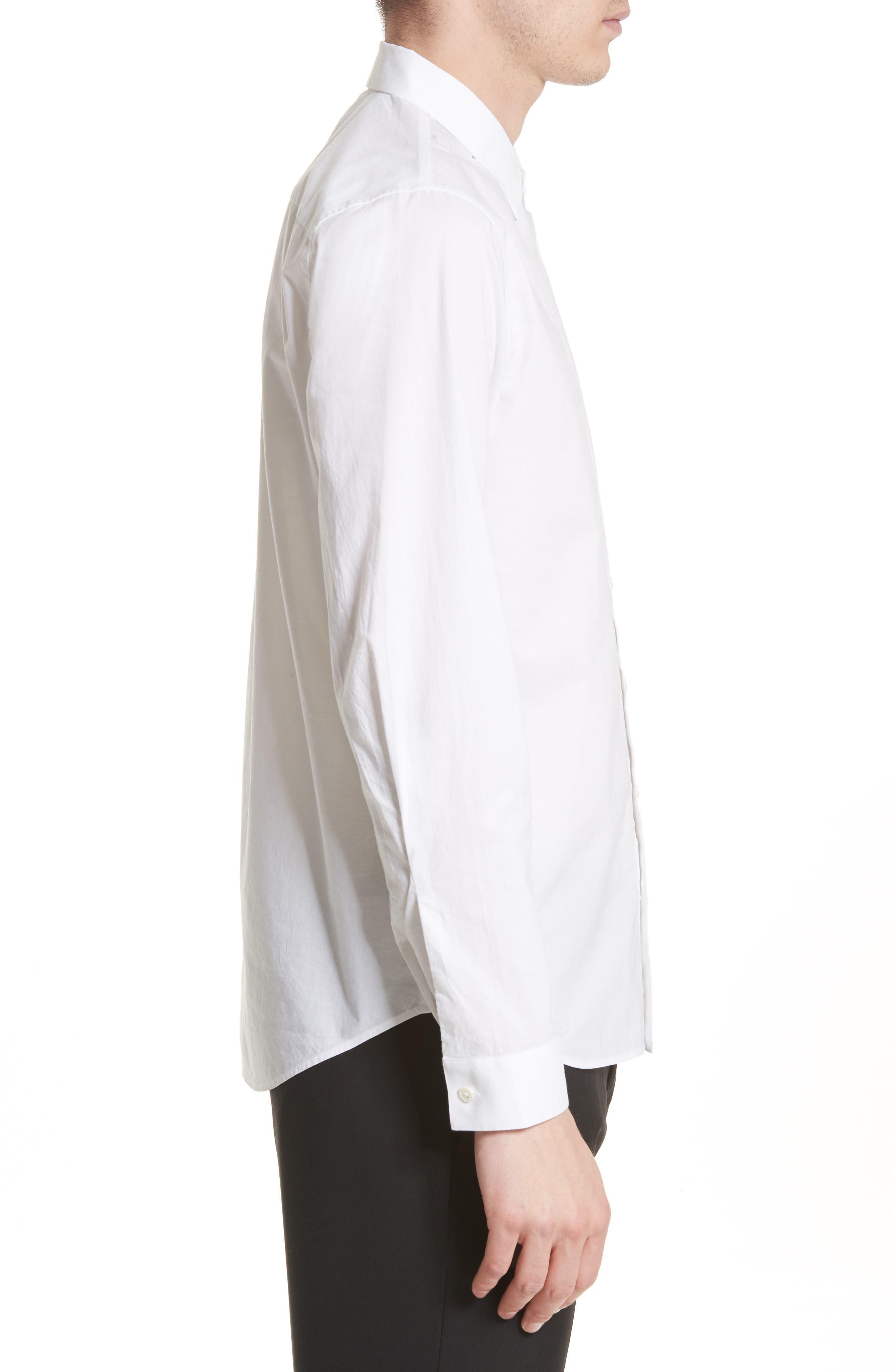 Cotton Dress Shirt,                             Alternate thumbnail 6, color,
