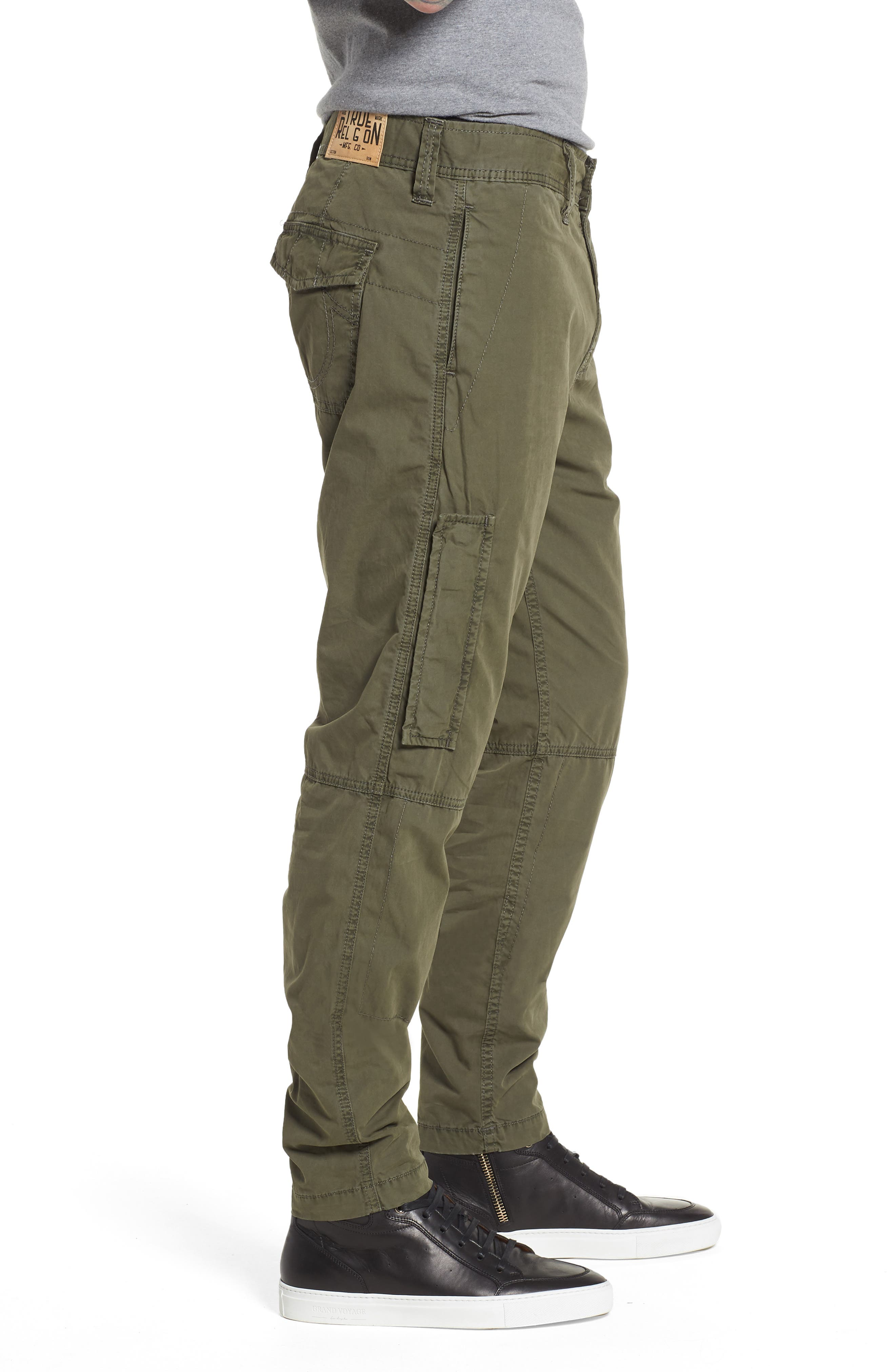 Officer Field Pants,                             Alternate thumbnail 3, color,                             EPJ MILITANT GREEN