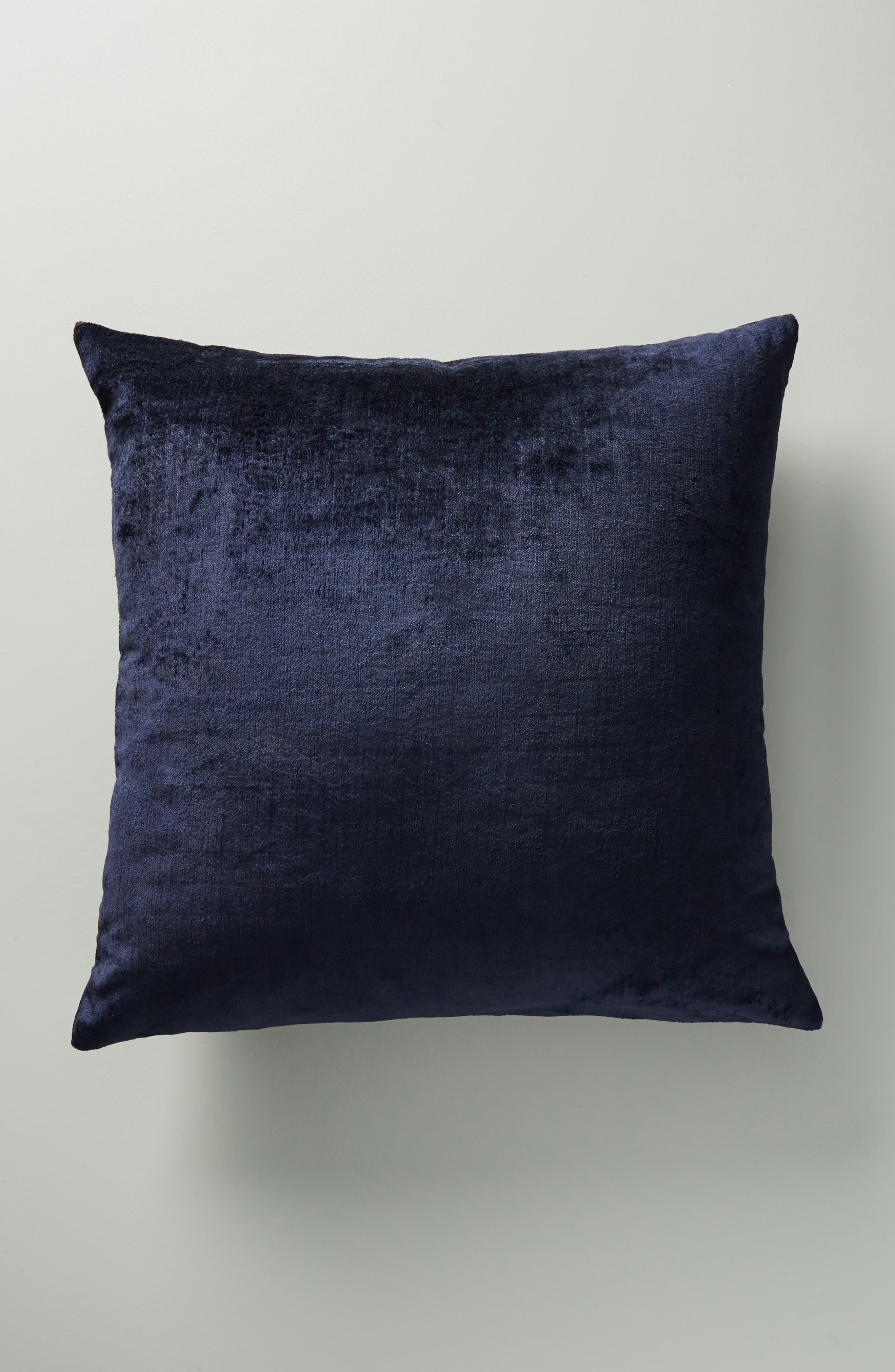 Wyatt Velvet Accent Pillow,                             Alternate thumbnail 2, color,                             400