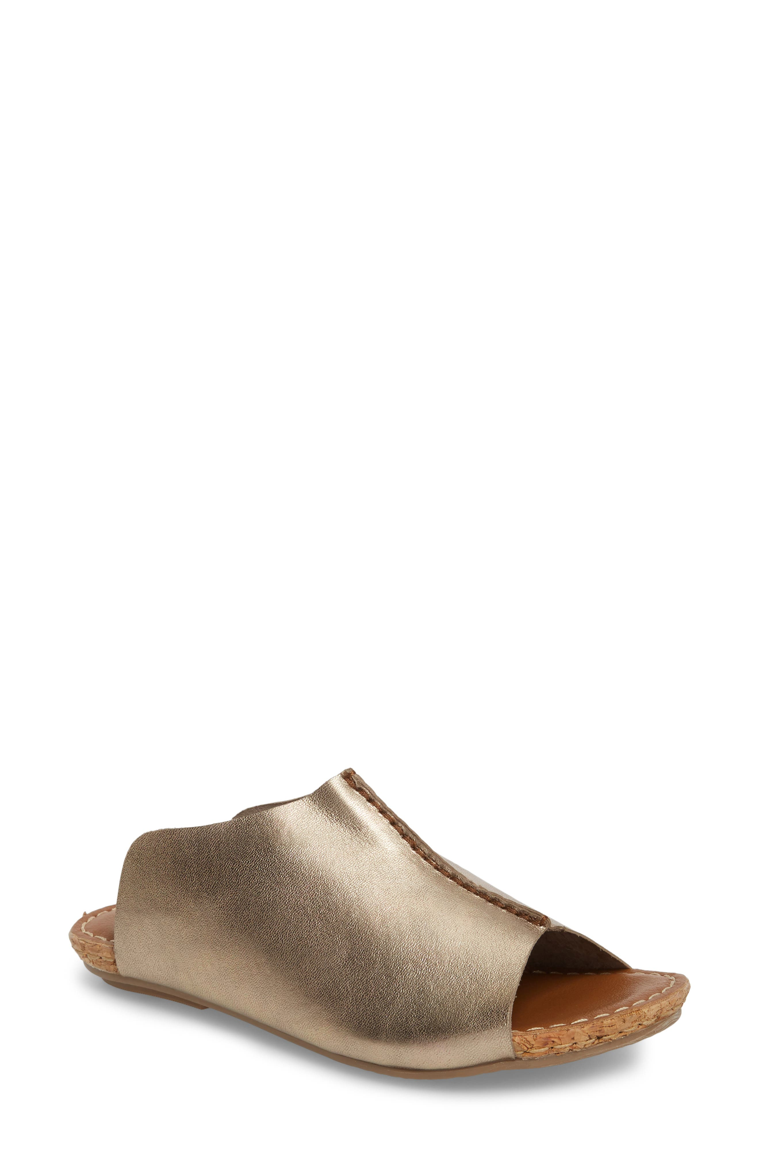 Klub Nico Gracey Slide Sandal, Metallic