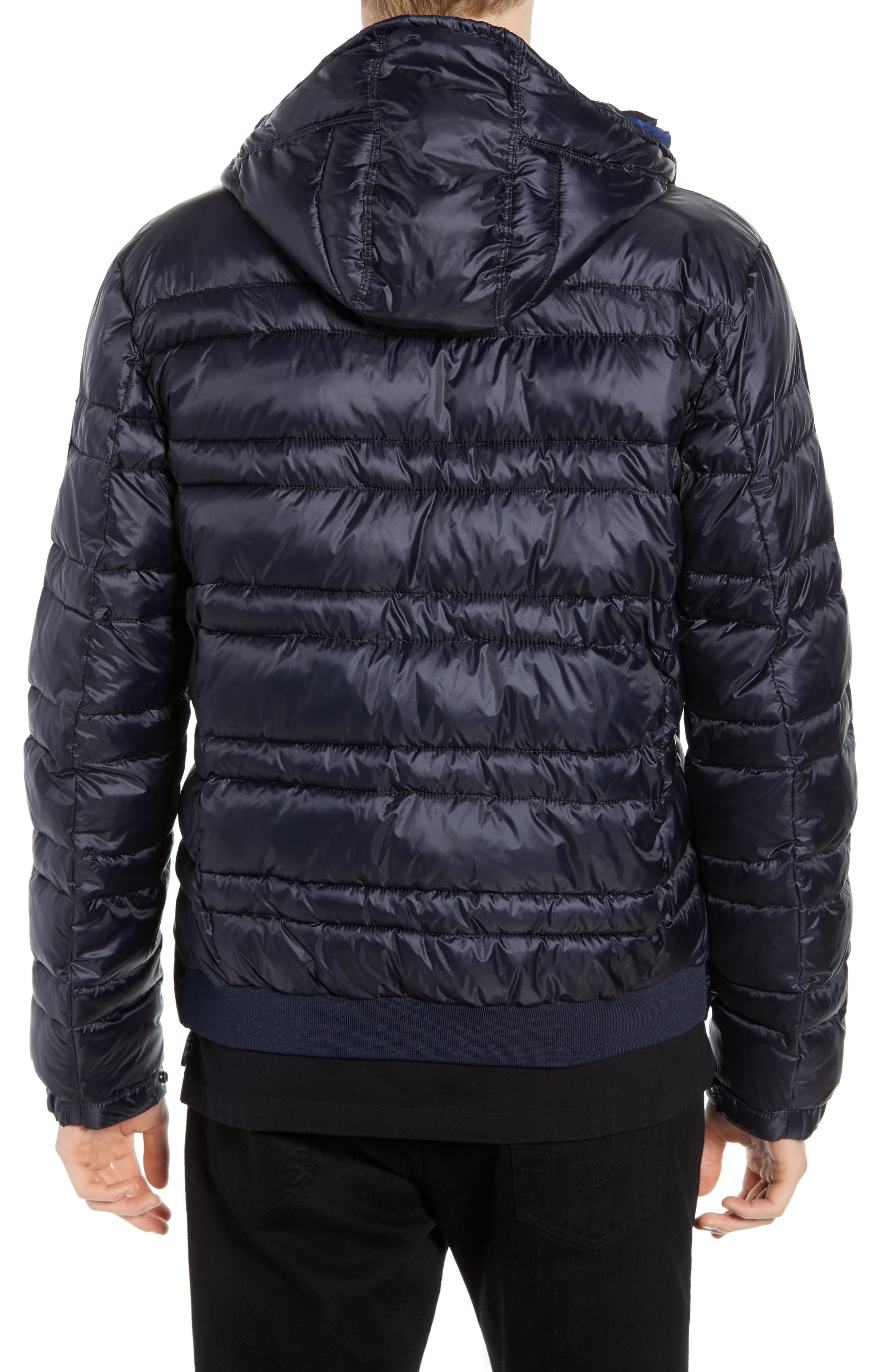 Quilted Puffer Jacket,                             Alternate thumbnail 2, color,                             NIGHT