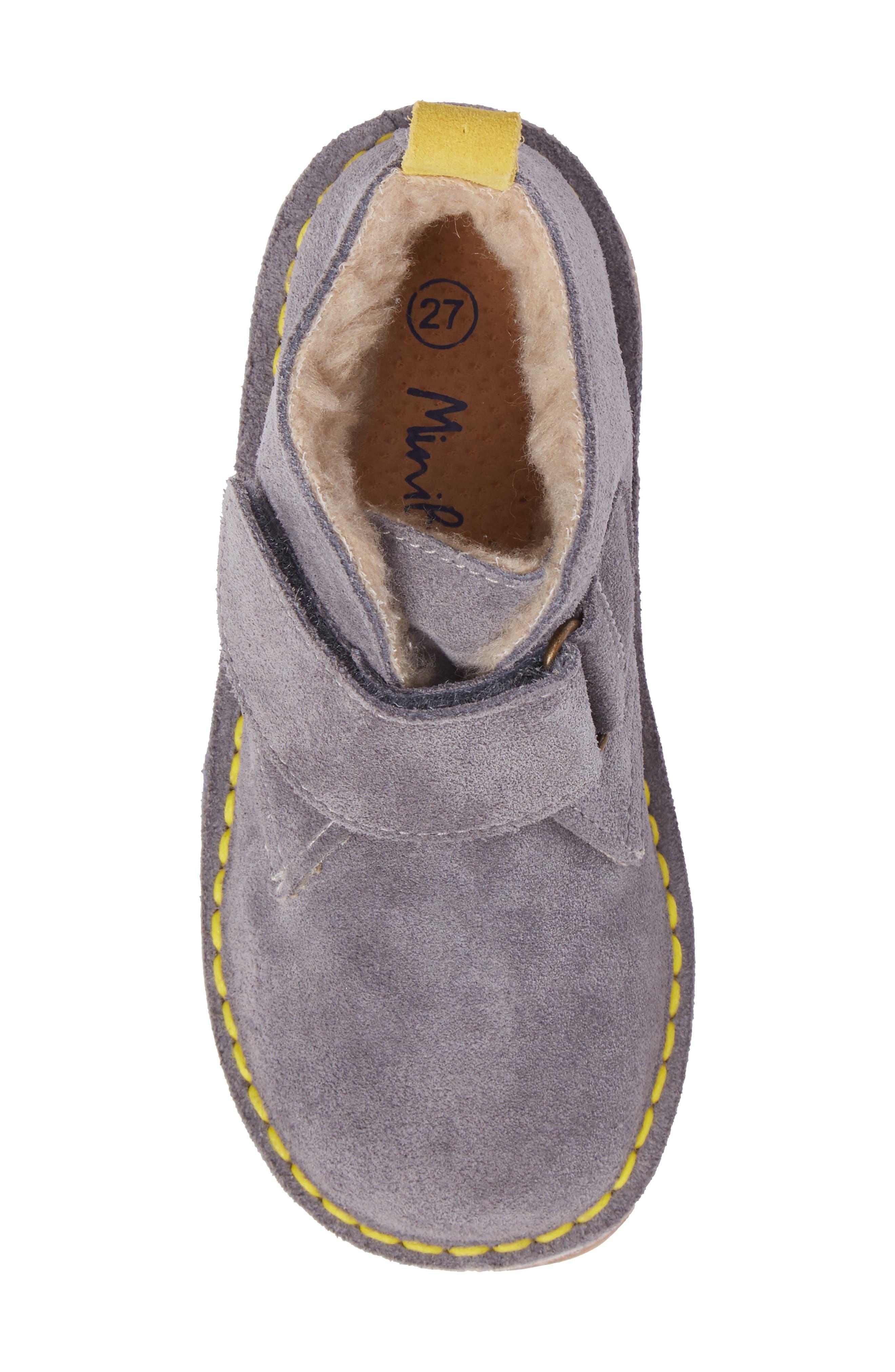 Faux Fur Desert Boot,                             Alternate thumbnail 5, color,                             034
