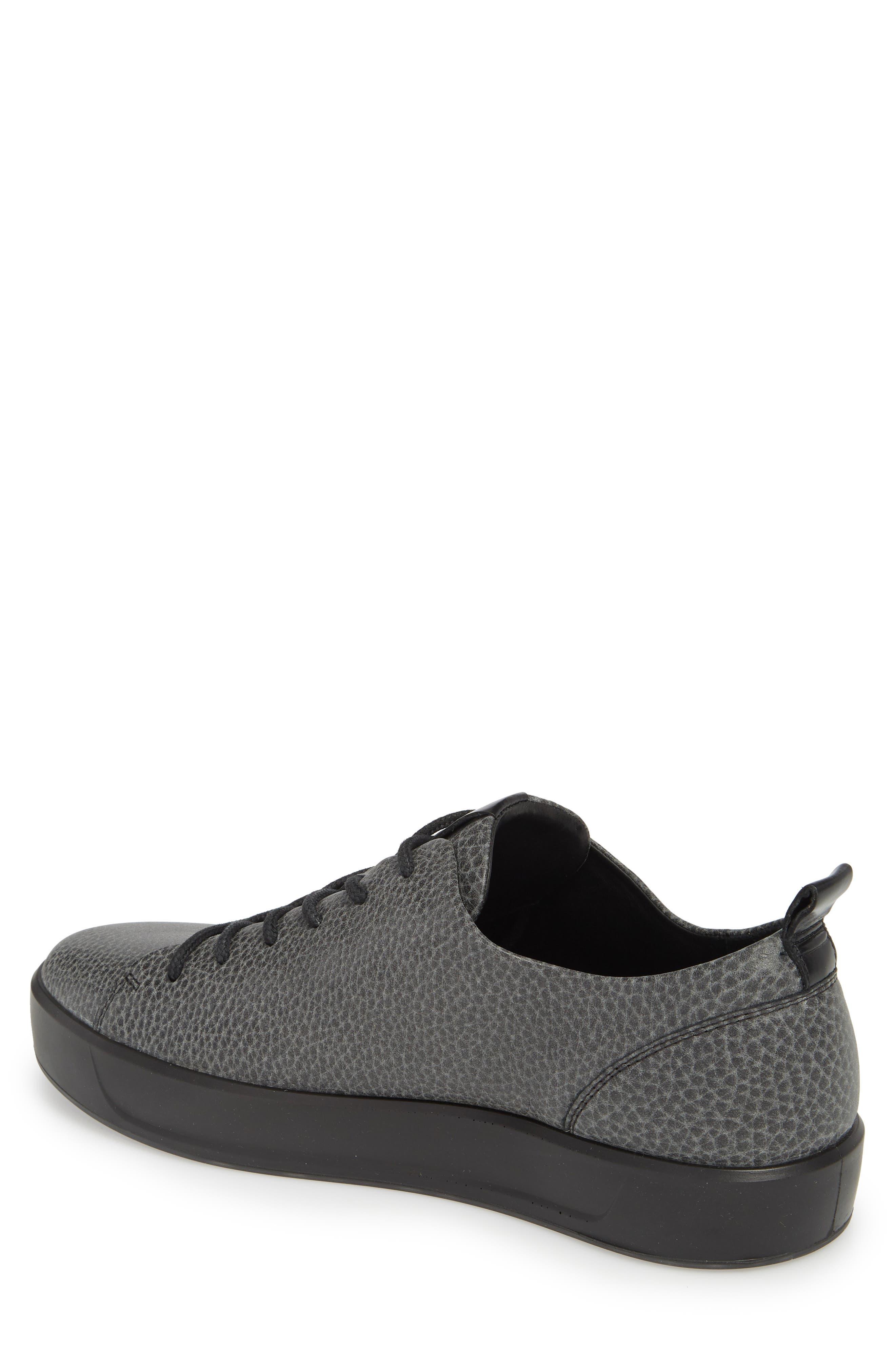 Soft 8 Tie II Low Top Sneaker,                             Alternate thumbnail 2, color,                             BLACK