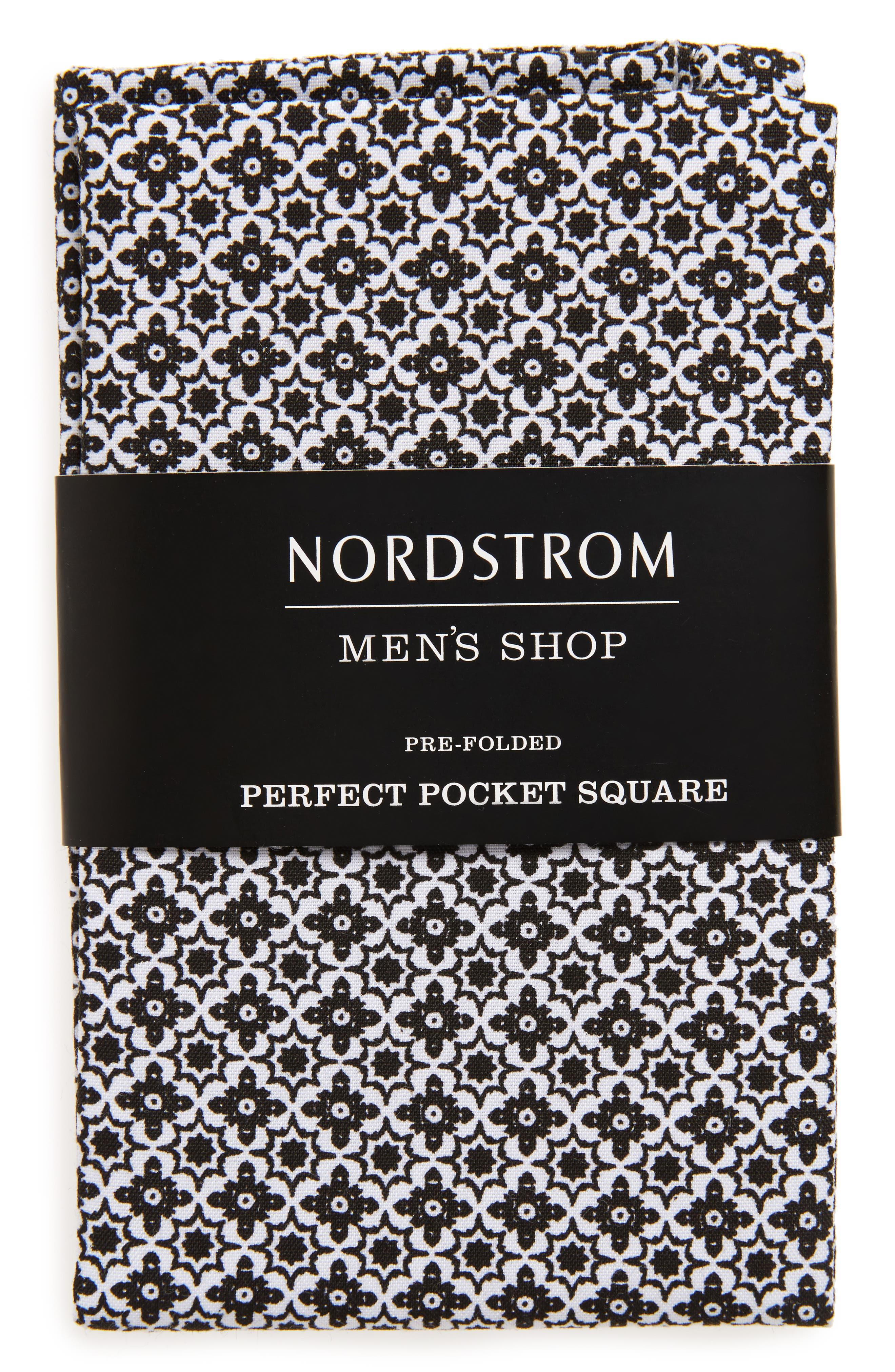 The Perfect Pre-Folded Pocket Square,                             Main thumbnail 1, color,                             005