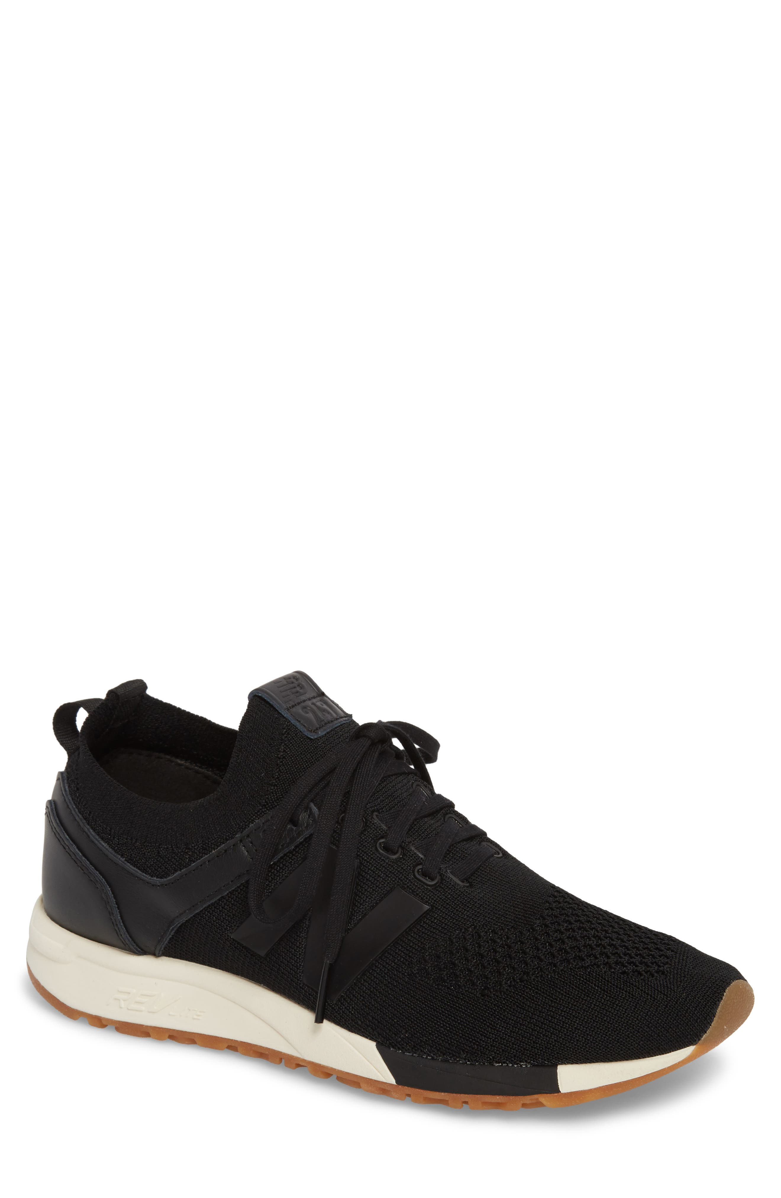 247 Decon Knit Sneaker,                             Main thumbnail 1, color,                             001