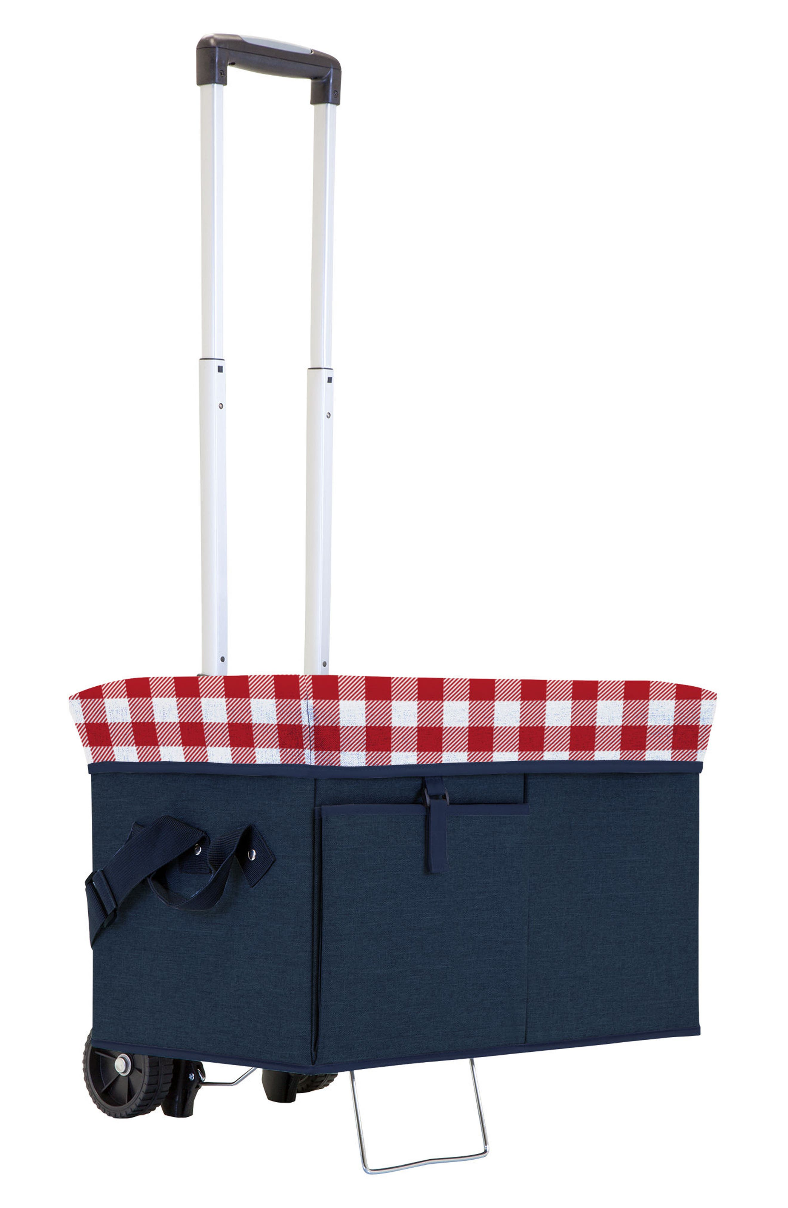 Picnic Time Ottoman Cooler with Trolley,                             Main thumbnail 1, color,                             410