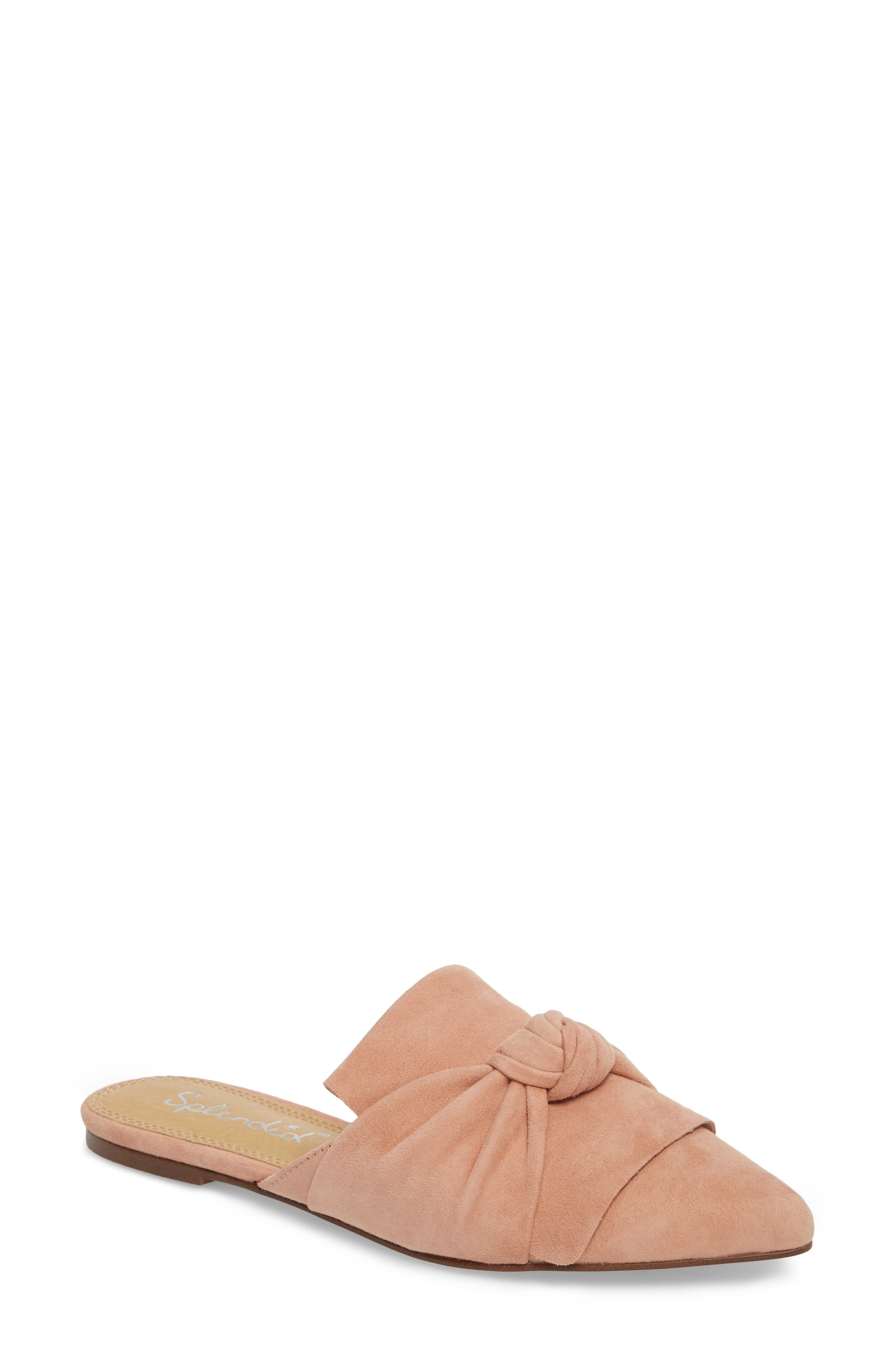 Bassett Knotted Pointy Toe Mule,                             Main thumbnail 3, color,