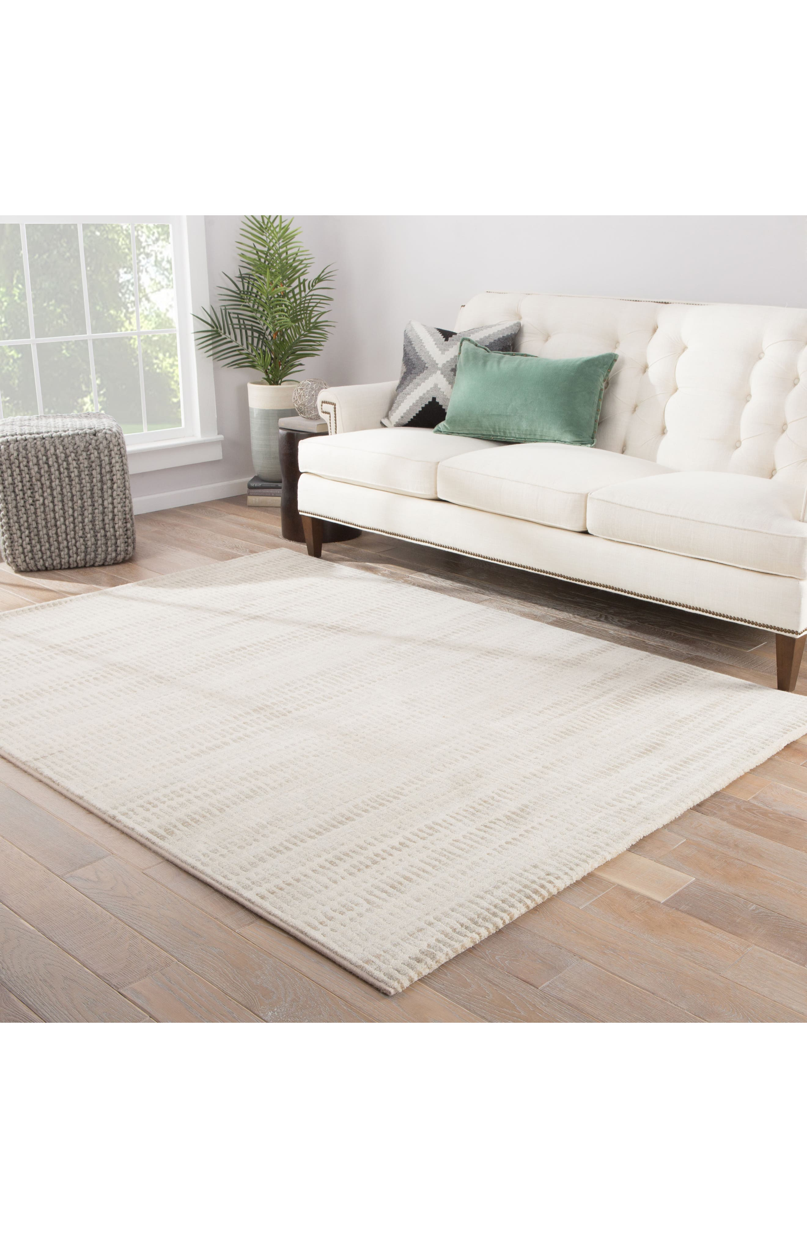 JAIPUR,                             Blurred Water Rug,                             Alternate thumbnail 5, color,                             BEIGE TAUPE