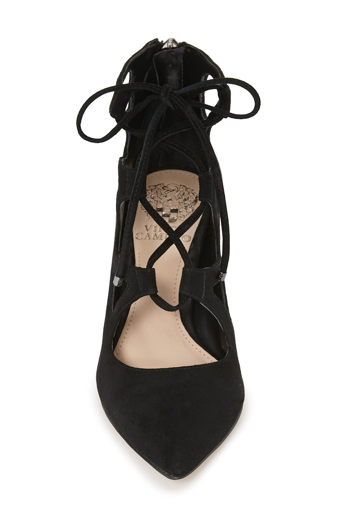 'Bodell' Lace Up Pump,                             Alternate thumbnail 6, color,