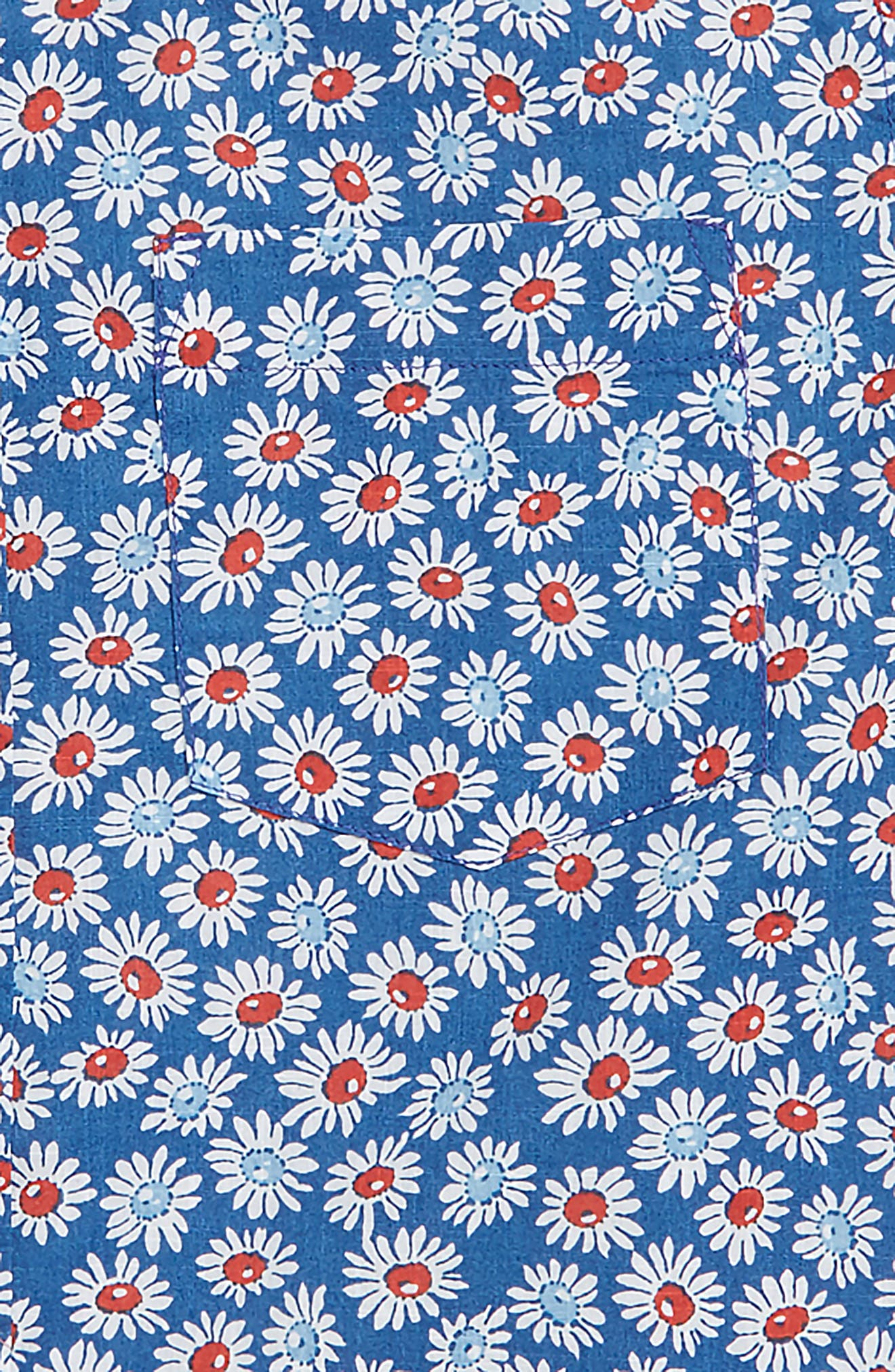 Secret Wash Daisy Shirt,                             Alternate thumbnail 2, color,                             400