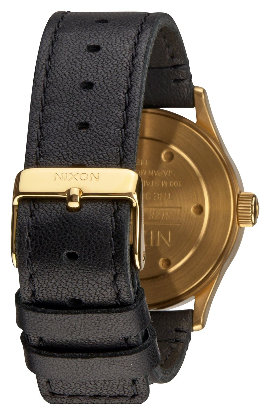 'The Sentry 38' Leather Strap Watch, 38mm,                             Alternate thumbnail 15, color,