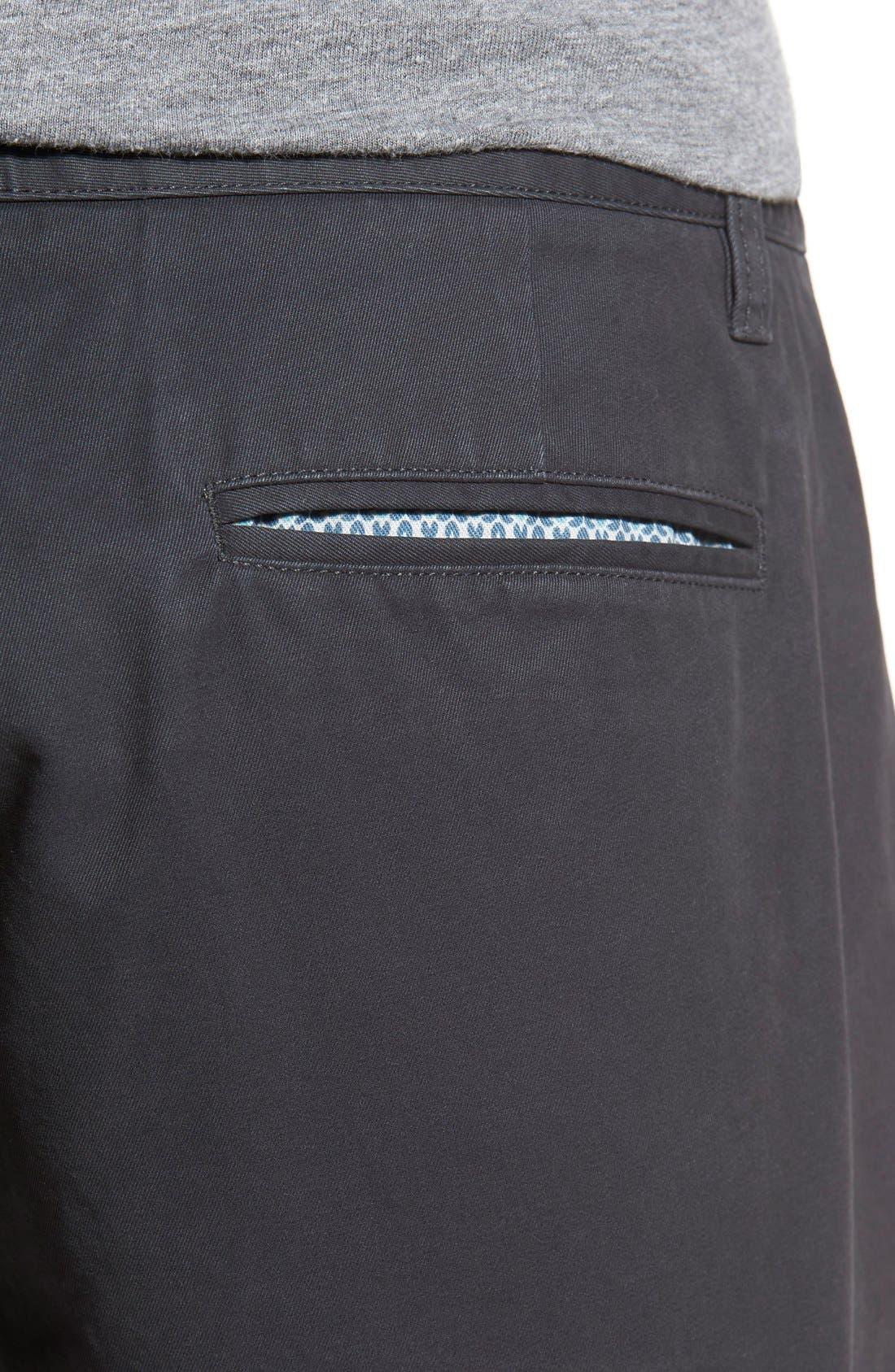 Washed Chino Shorts,                             Alternate thumbnail 5, color,                             001