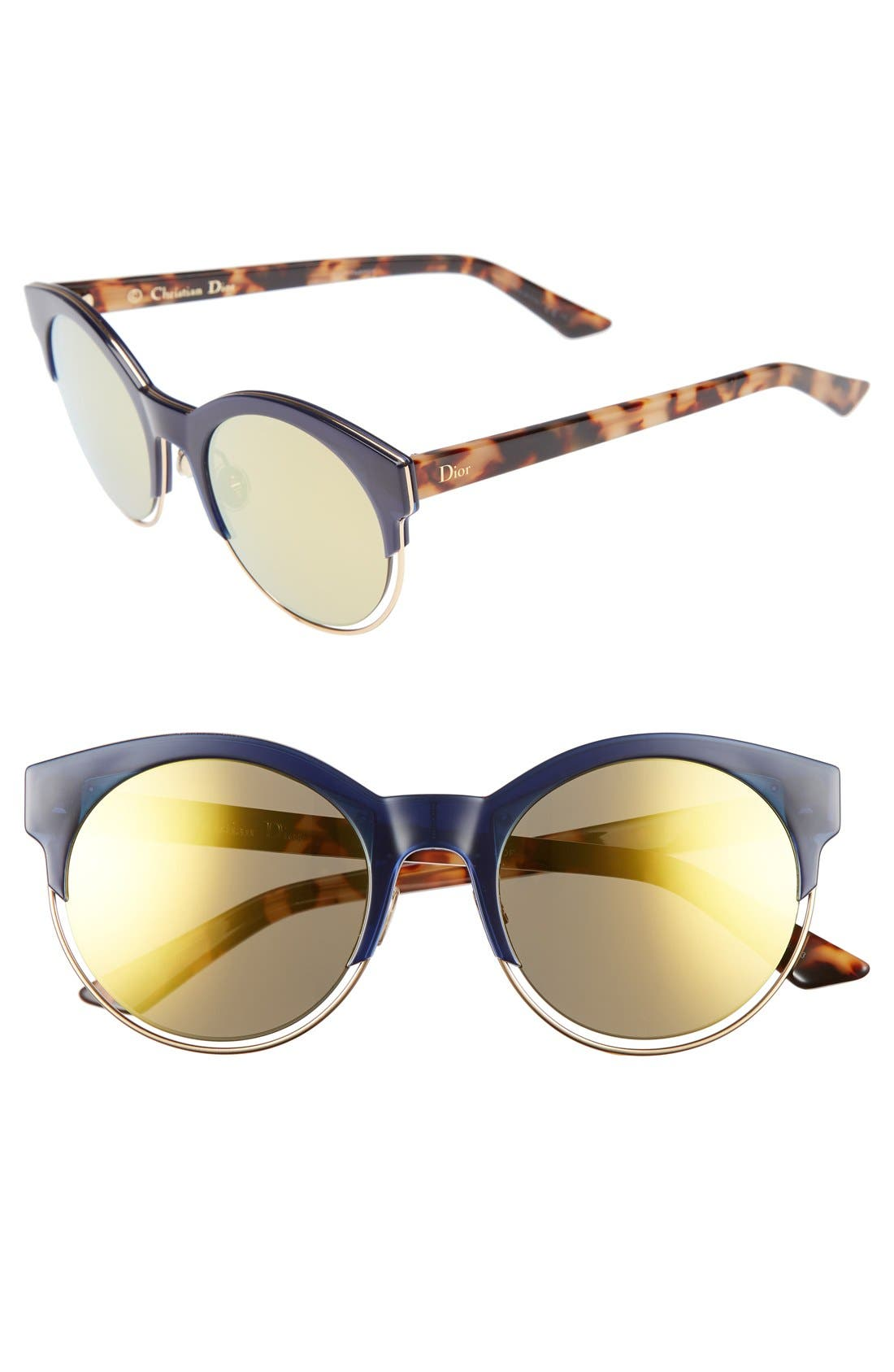 Siderall 1 53mm Round Sunglasses,                             Main thumbnail 6, color,