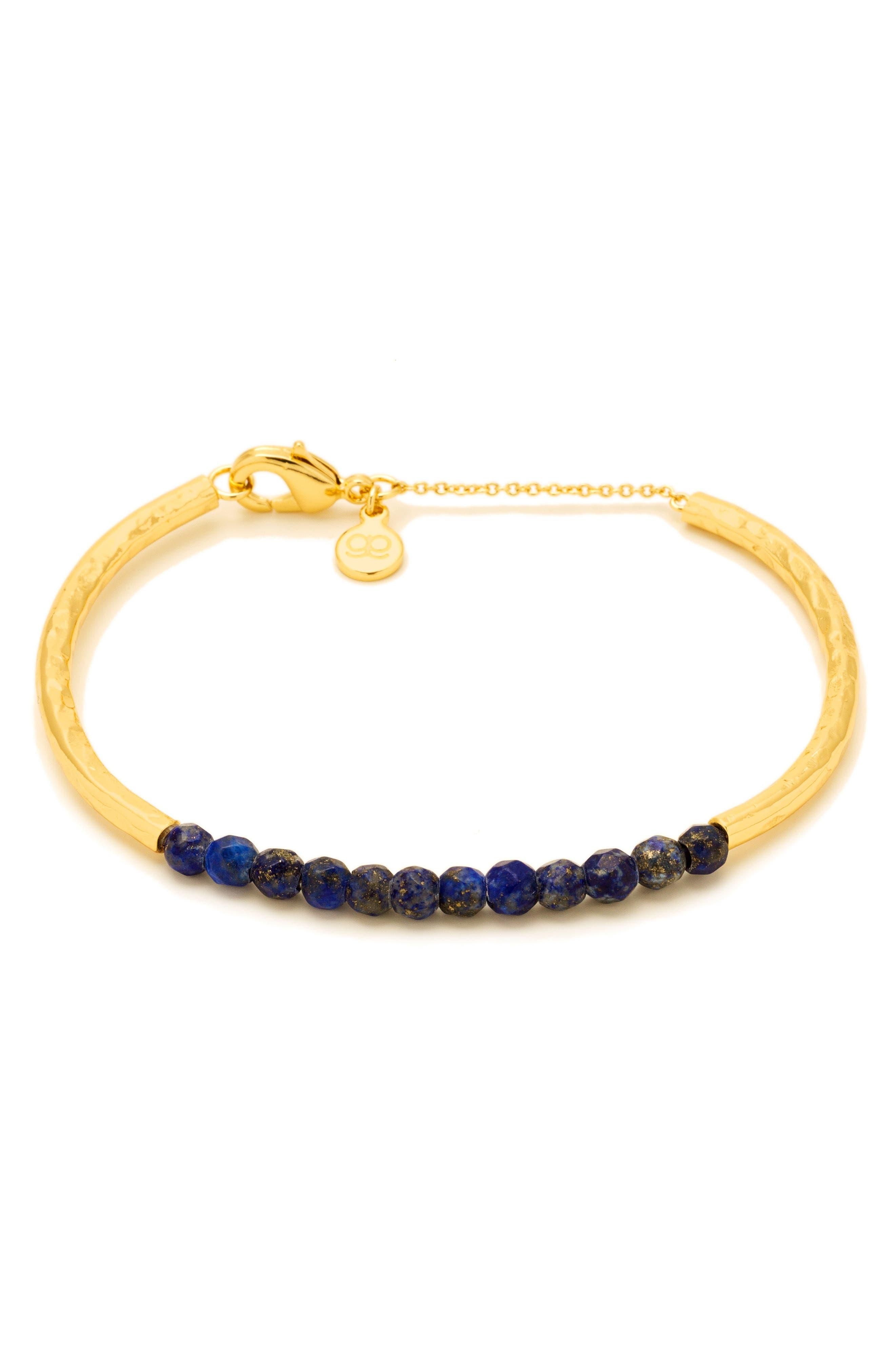 Power Stone Semiprecious Beaded Bracelet,                             Main thumbnail 6, color,