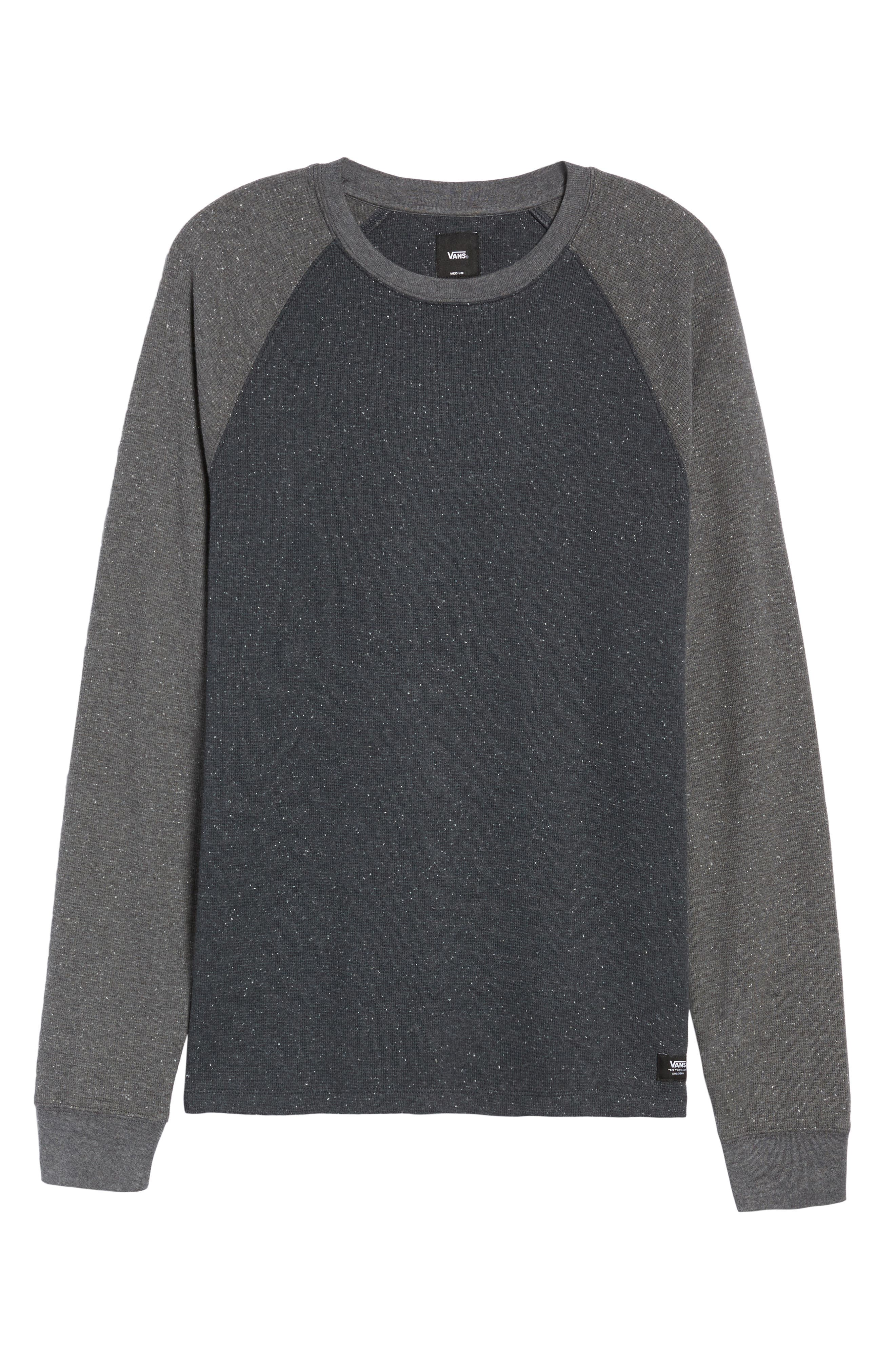 Burdett Thermal T-Shirt,                             Alternate thumbnail 6, color,                             001
