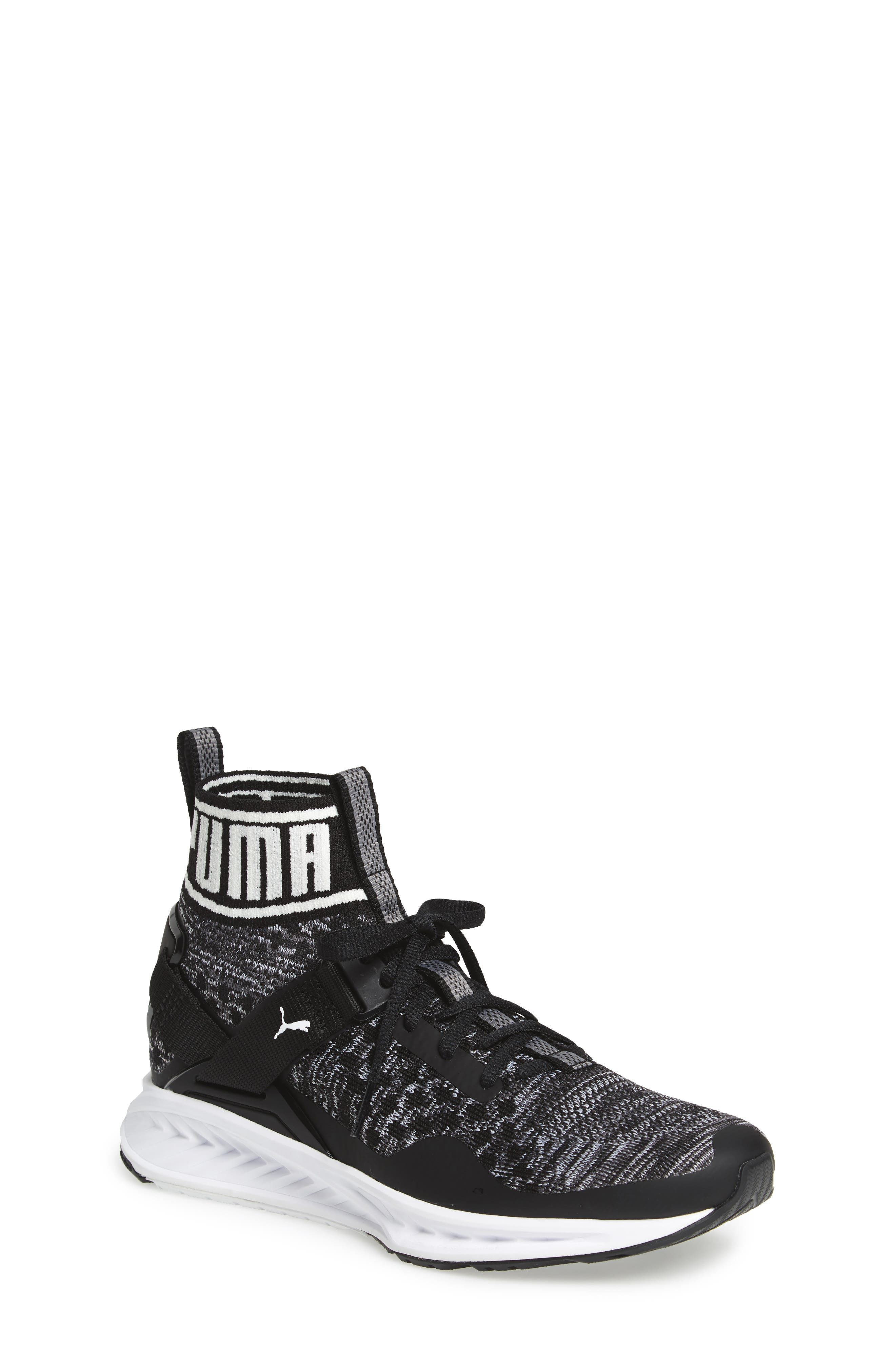 Ignite Evoknit Sneaker,                             Main thumbnail 1, color,                             001