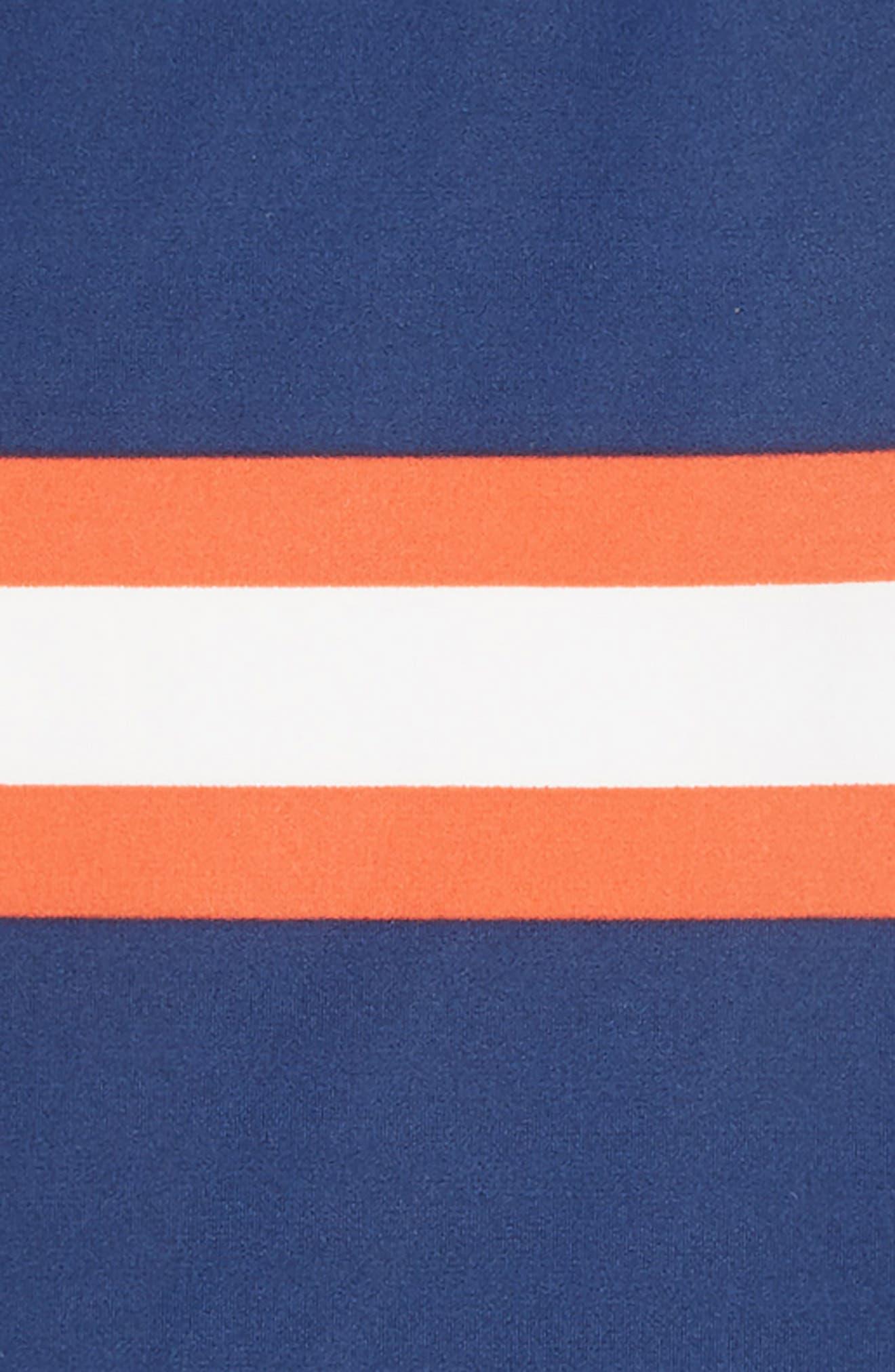 MINI BODEN,                             Chest Stripe Rashguard,                             Alternate thumbnail 2, color,                             COLLEGE BLUE