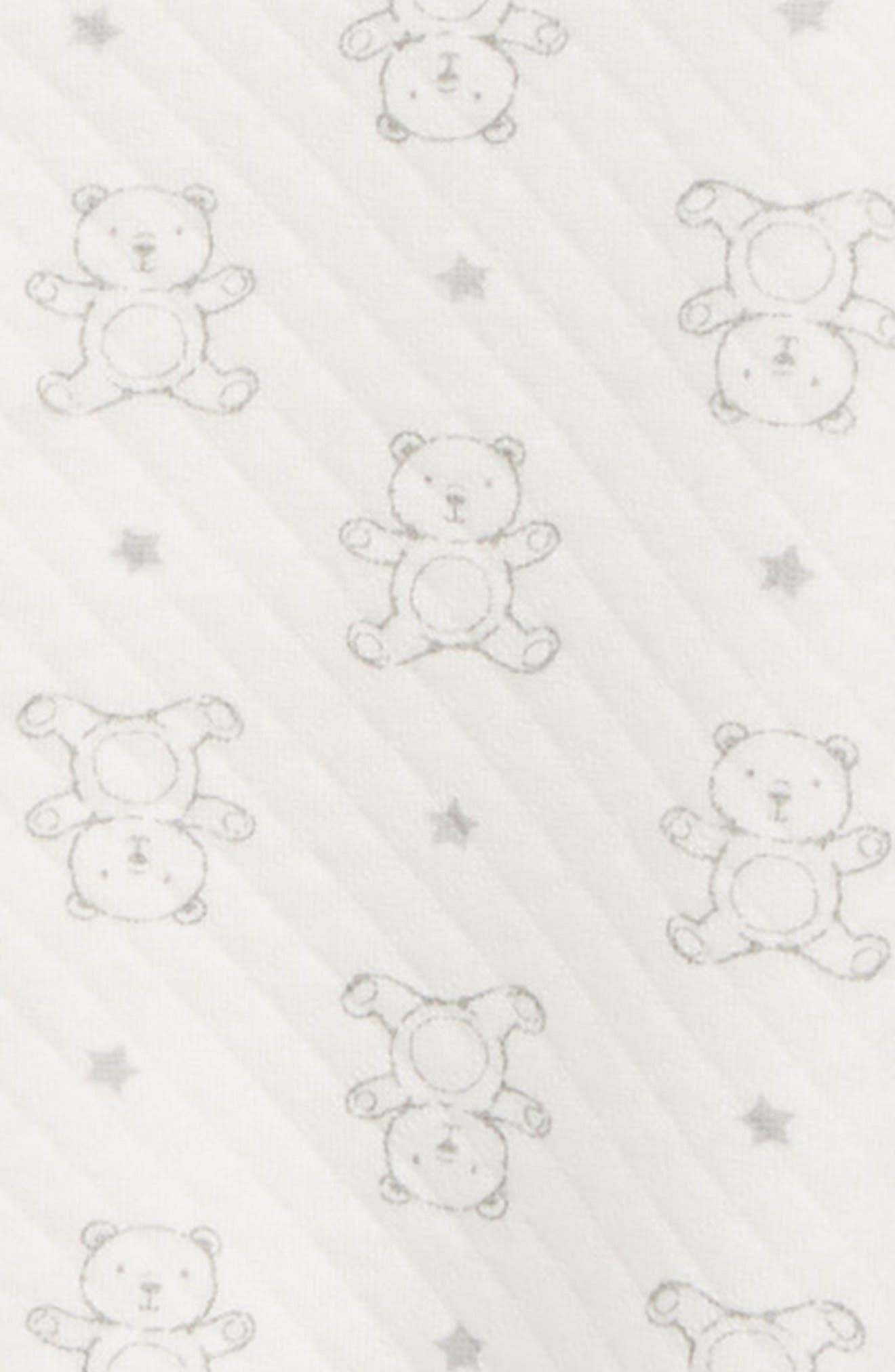Bear Footie & Hat Set,                             Alternate thumbnail 2, color,                             900