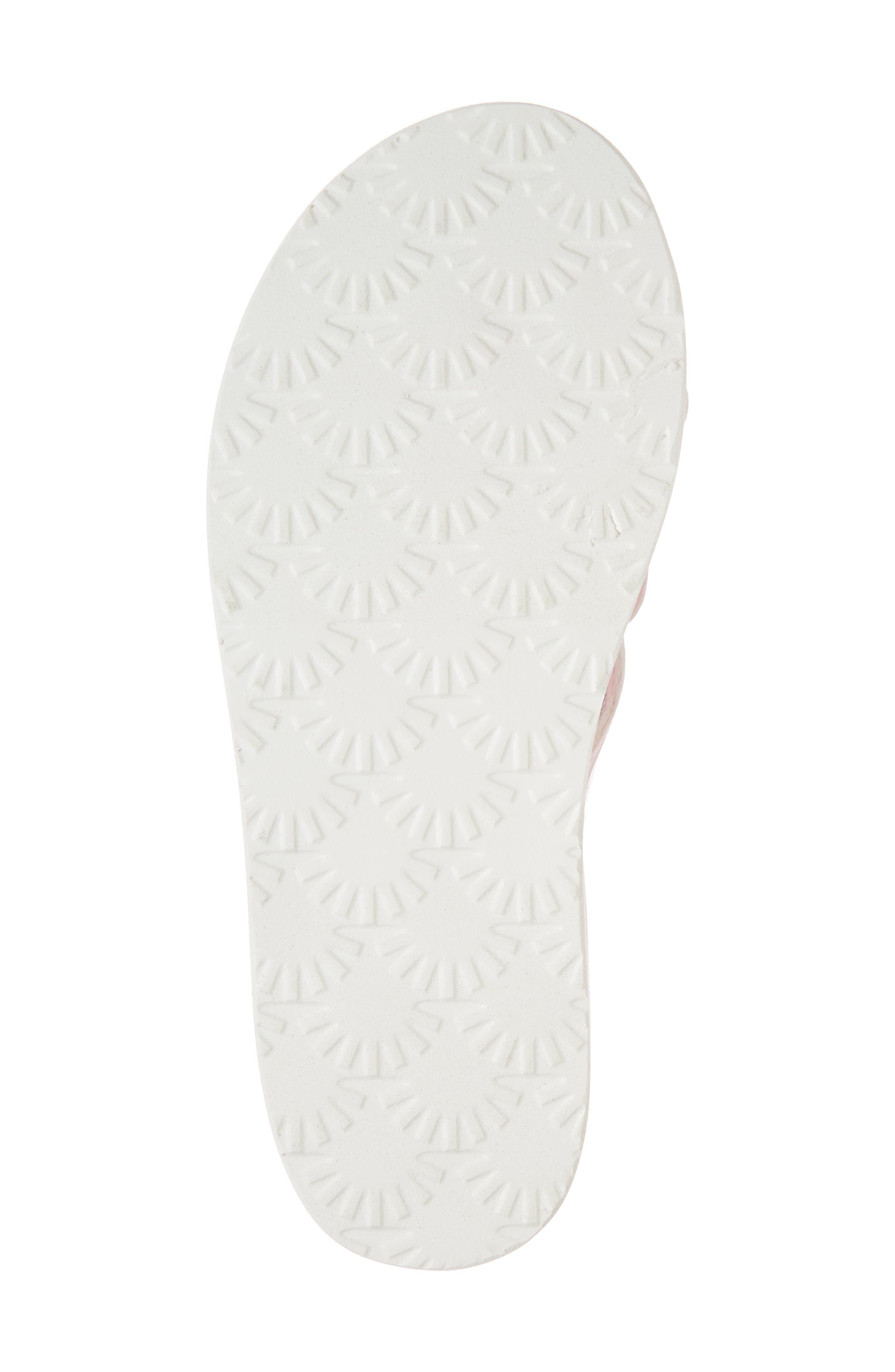 Poppy Genuine Shearling Flip Flop,                             Alternate thumbnail 17, color,