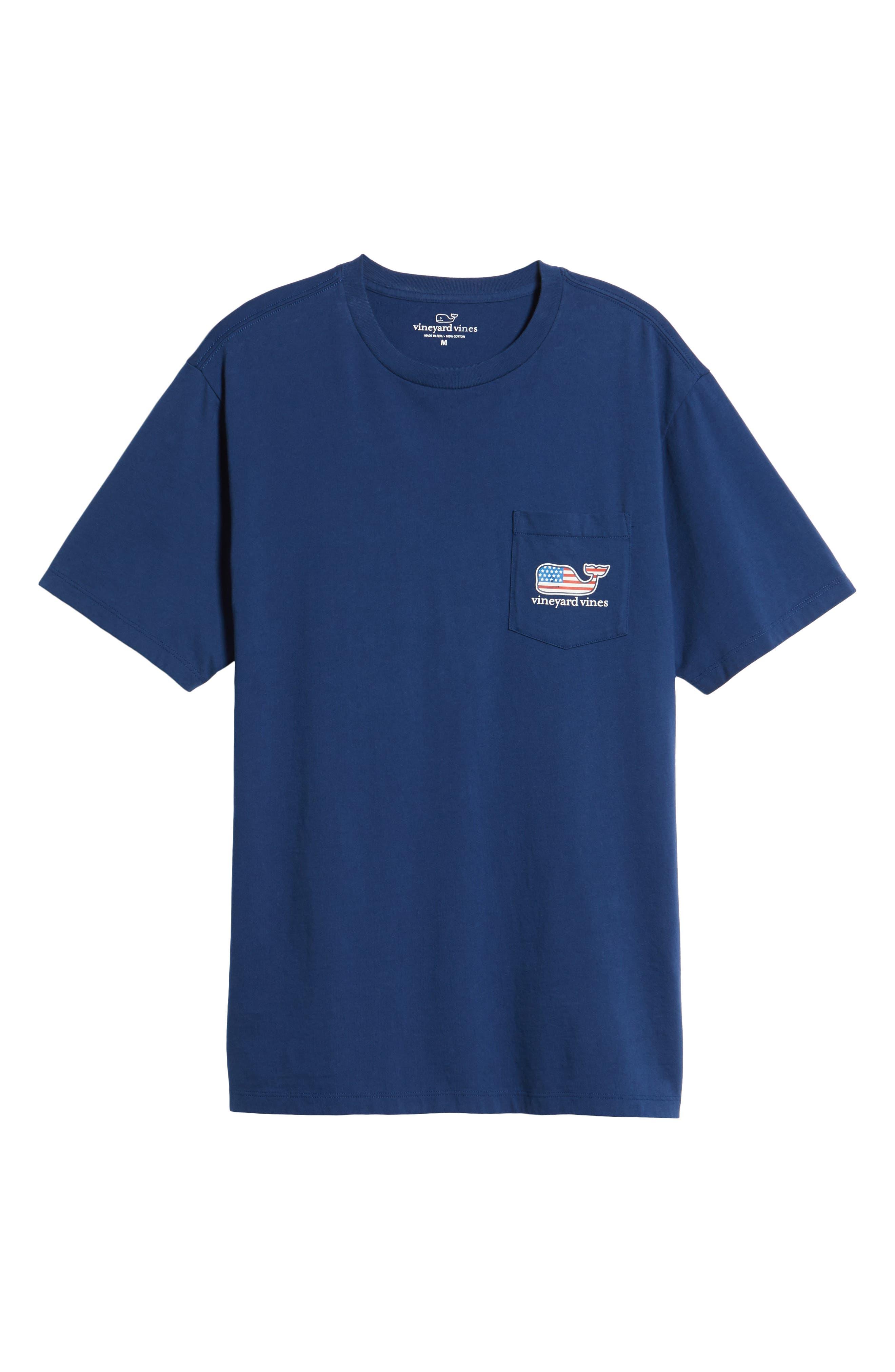 U.S. Tradition Pocket T-Shirt,                             Alternate thumbnail 6, color,                             400