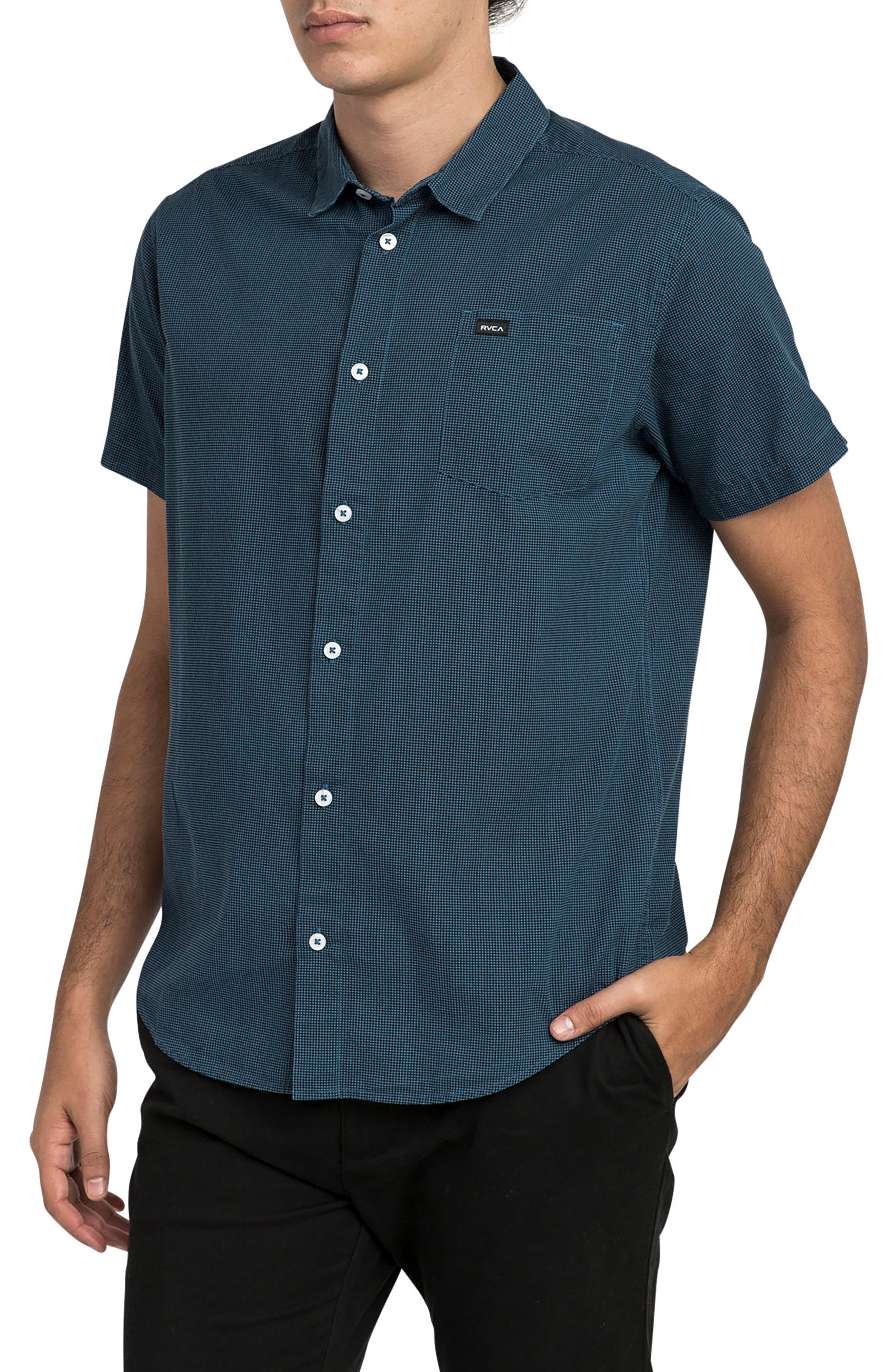 No Name Woven Shirt,                             Alternate thumbnail 3, color,                             400