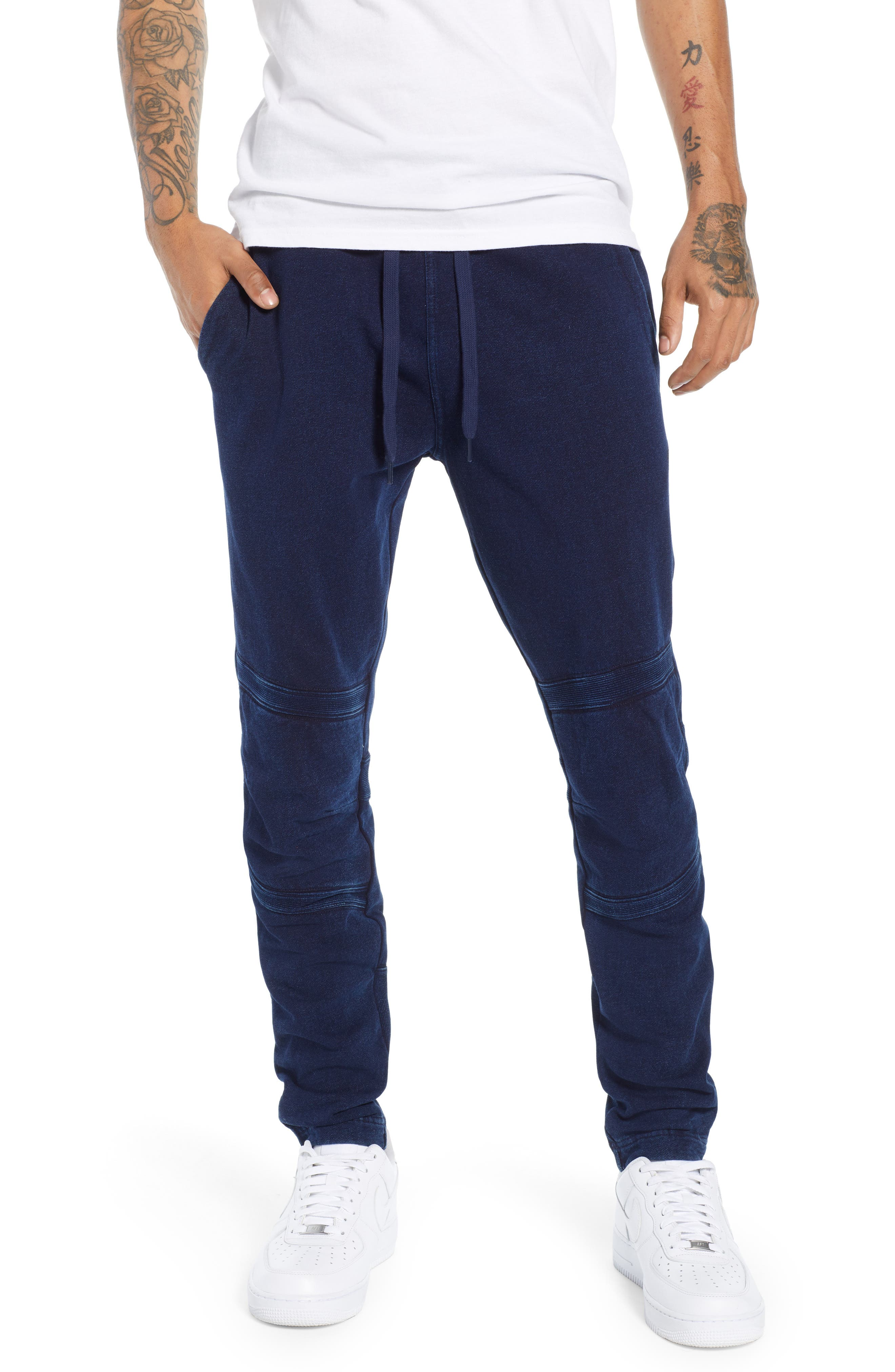 G-STAR RAW,                             Motac-X Slim Fit Sweat Pants,                             Main thumbnail 1, color,                             001