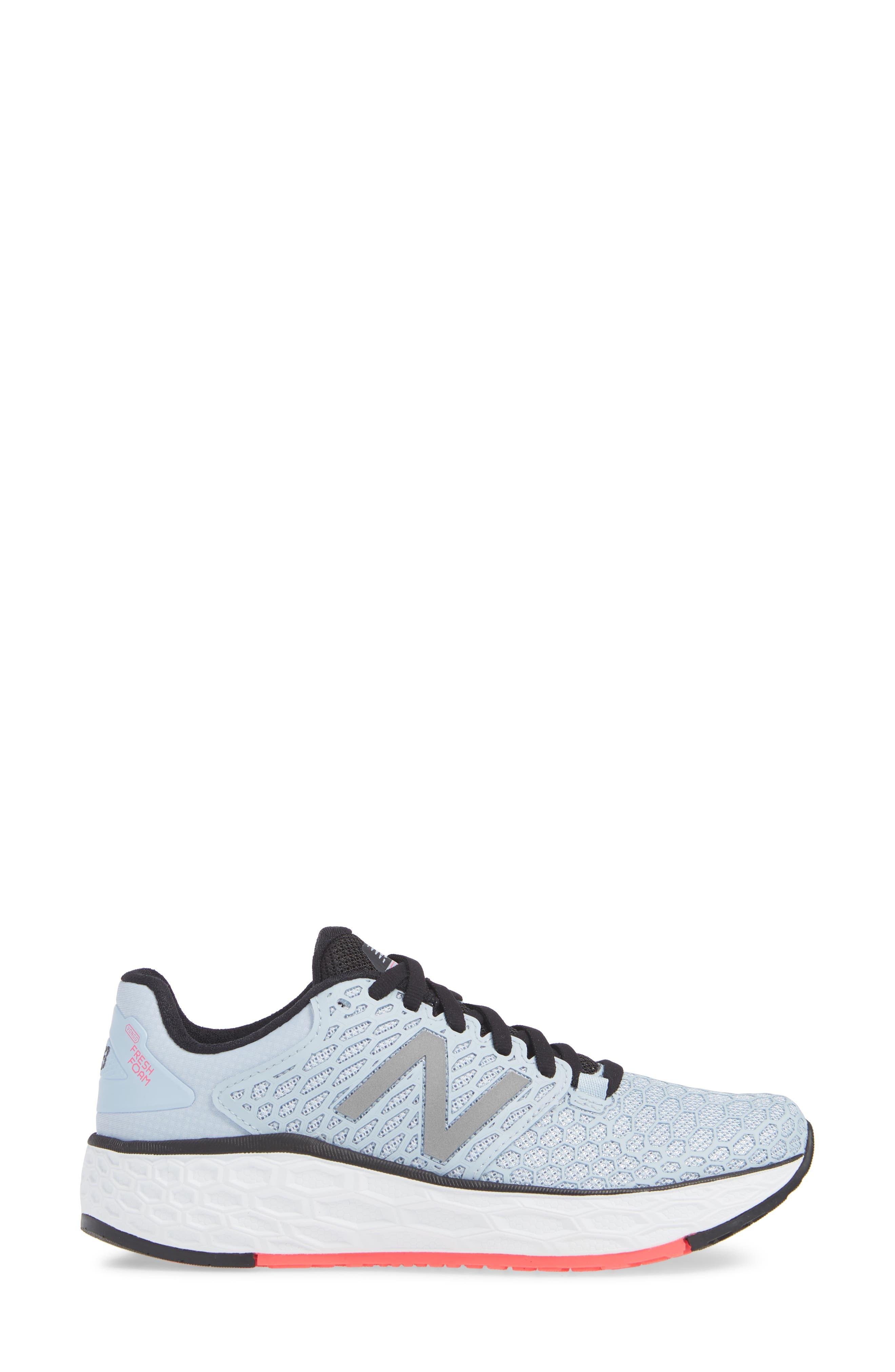Fresh Foam Vongo Running Shoe,                             Alternate thumbnail 3, color,                             ICE BLUE