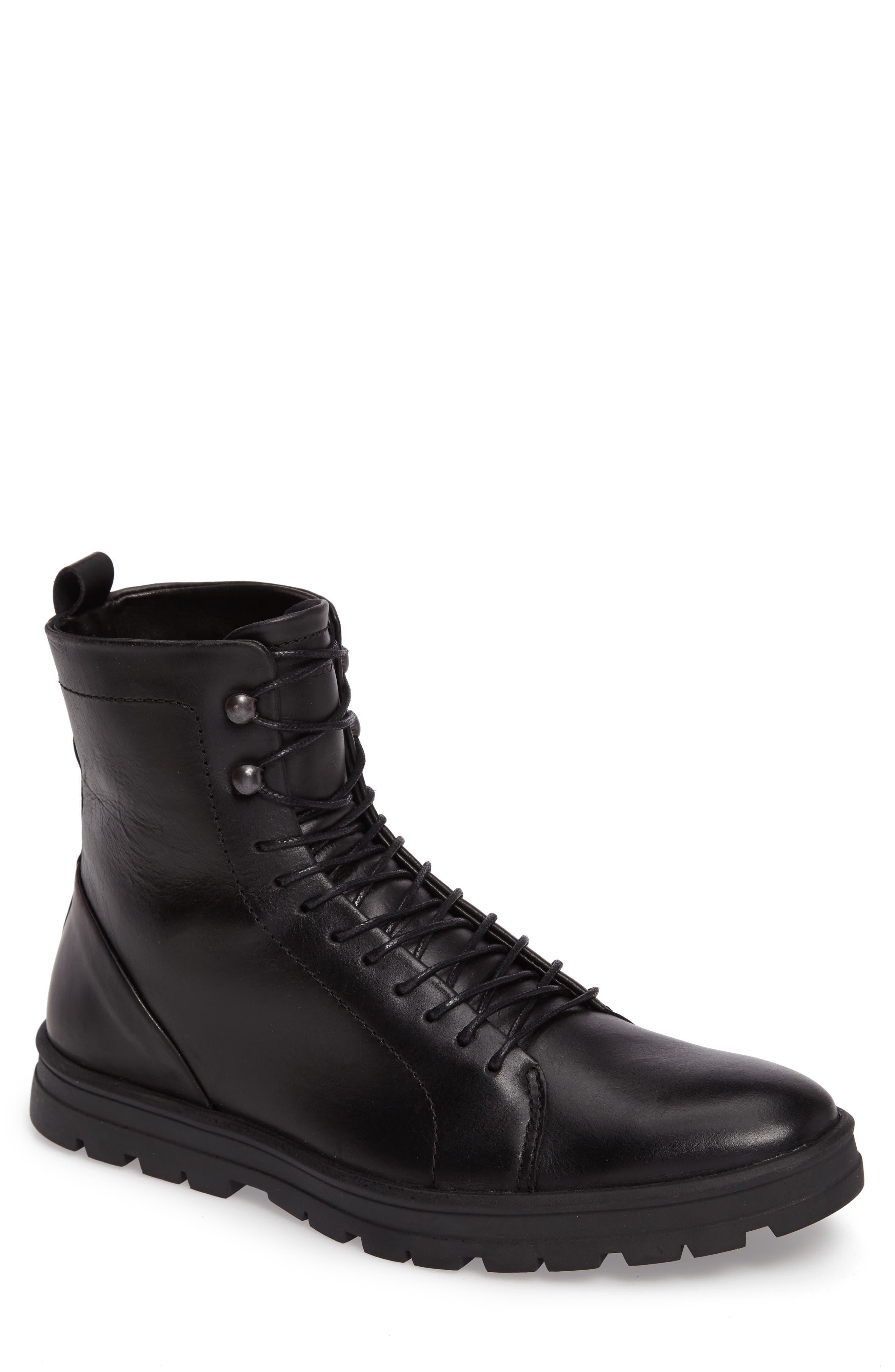 Hudson Waterproof Tall Boot,                             Main thumbnail 1, color,                             001