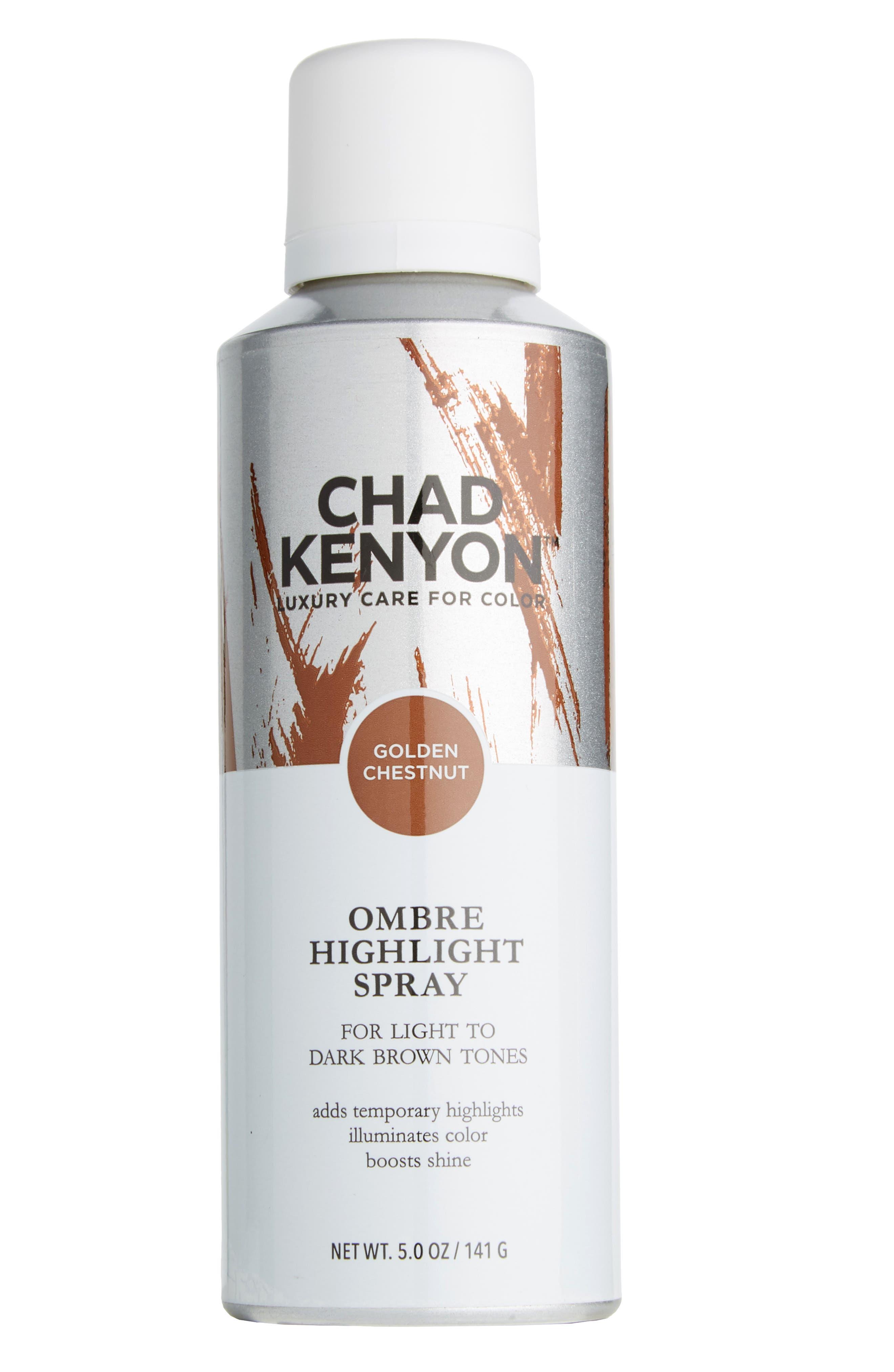Golden Chestnut Ombré Highlight Spray,                             Main thumbnail 1, color,                             CHESTNUT