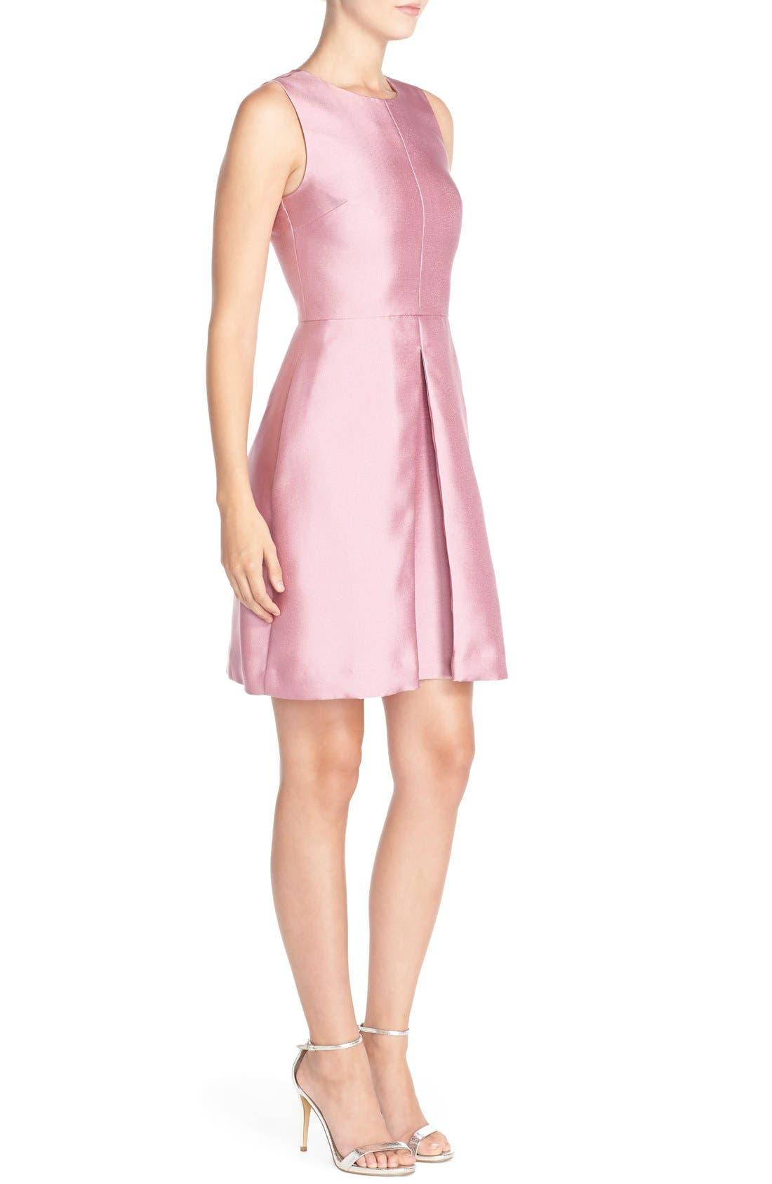 'Sophie' Twill Fit & Flare Dress,                             Alternate thumbnail 2, color,                             663