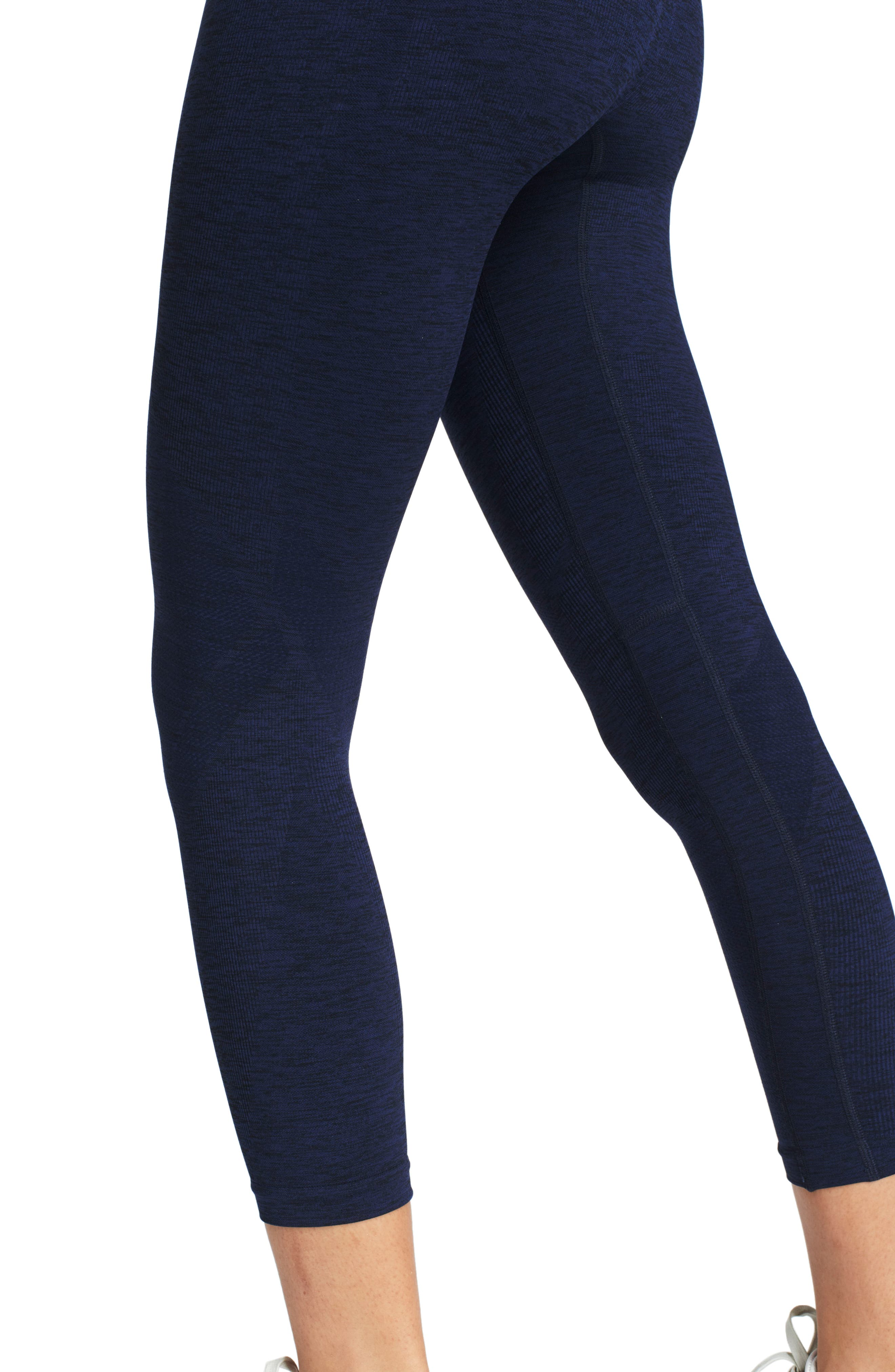 Six Eight High Waist Crop Leggings,                             Alternate thumbnail 2, color,                             400
