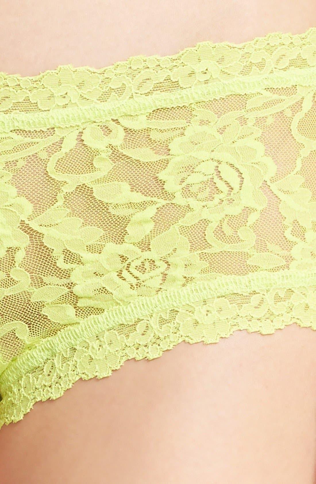 'Signature Lace' Boyshorts,                             Alternate thumbnail 297, color,