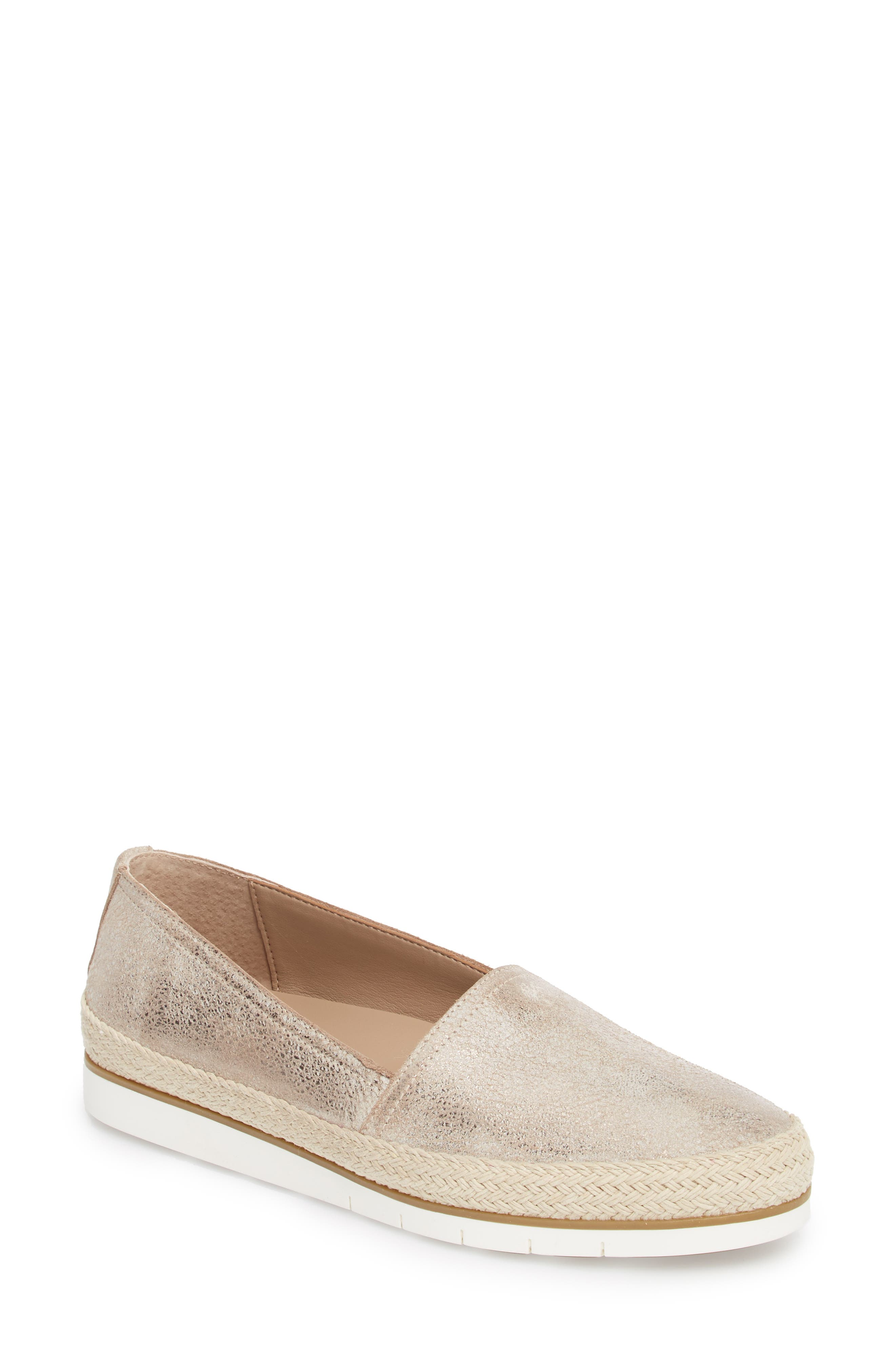 Palm Slip-On Sneaker,                             Main thumbnail 1, color,                             TAUPE FABRIC