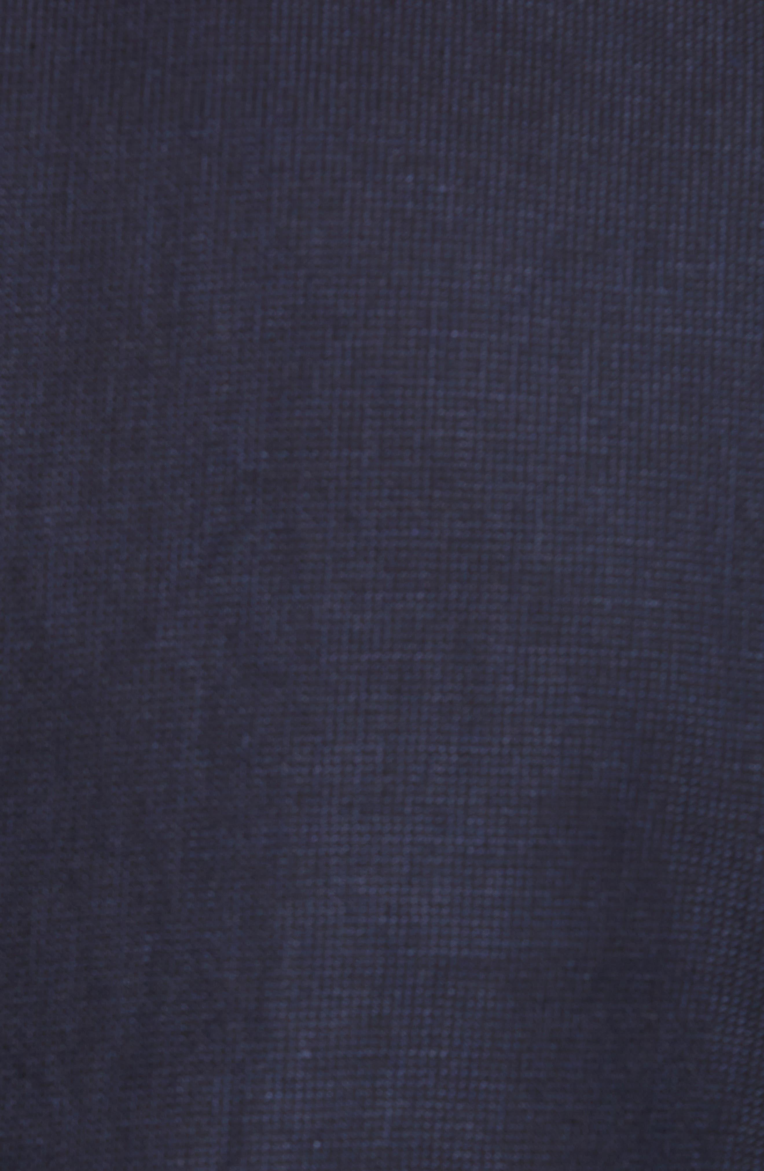 Raney Trim Fit Linen & Cotton Jacket,                             Alternate thumbnail 6, color,                             410