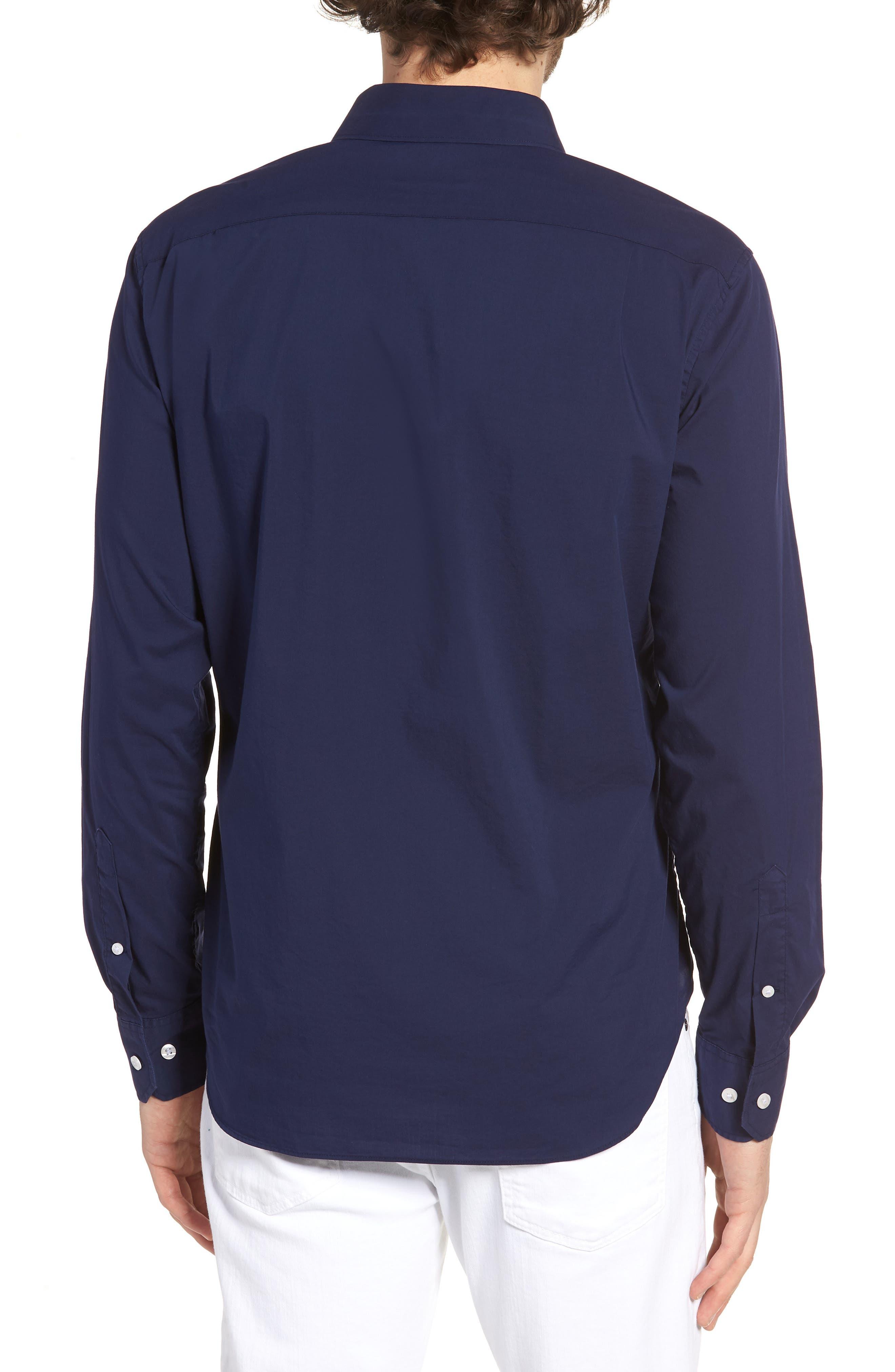 Unbutton Down 2.0 Slim Fit Sport Shirt,                             Alternate thumbnail 8, color,
