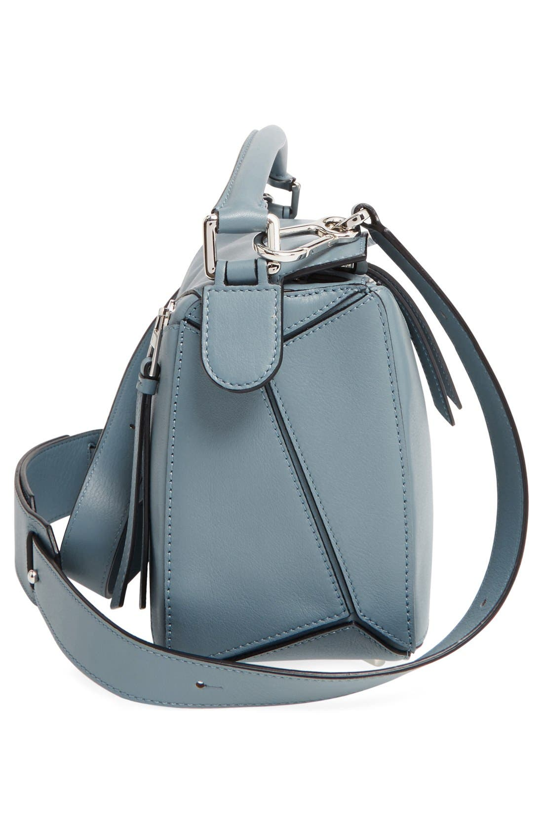 'Small Puzzle' Calfskin Leather Bag,                             Alternate thumbnail 36, color,