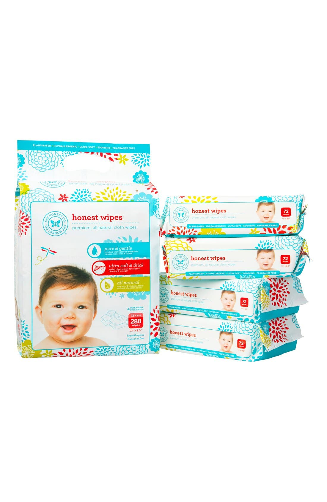 Cloth Baby Wipes,                             Alternate thumbnail 4, color,                             NONE