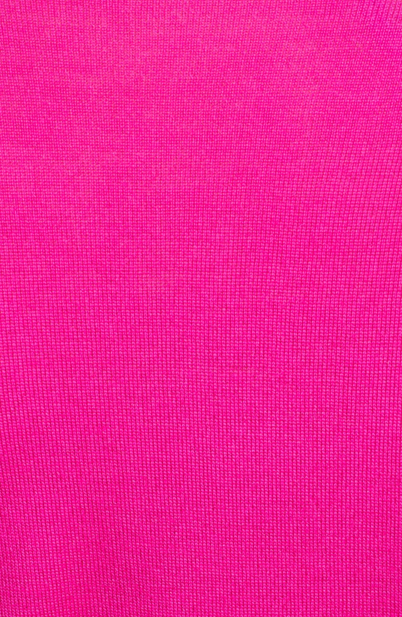 Plunging V-Neck Merino Wool Sweater,                             Alternate thumbnail 5, color,                             656