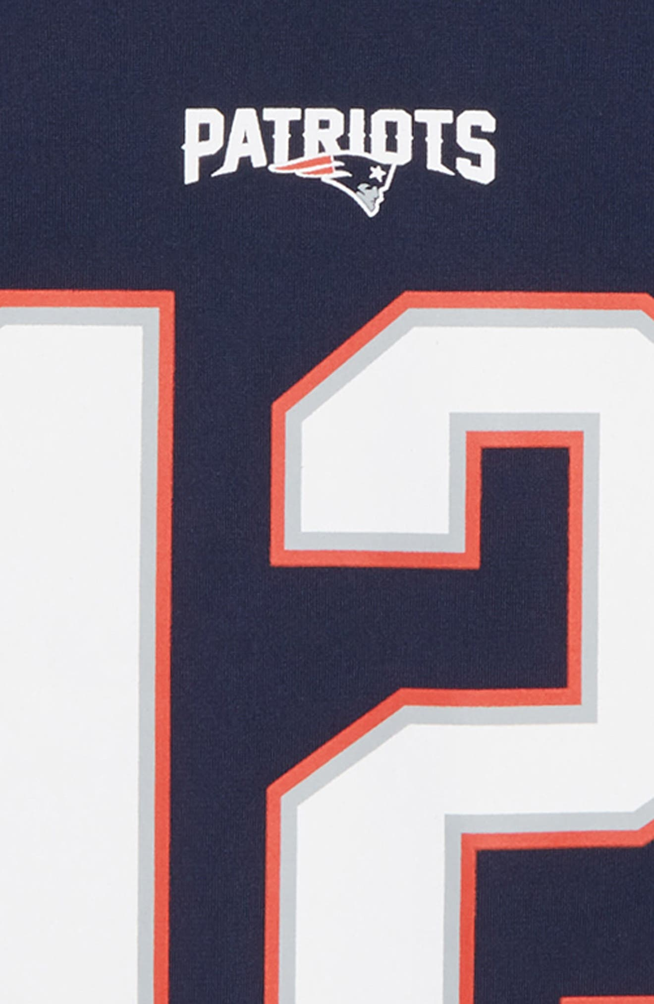 NFL Jersey T-Shirt,                             Alternate thumbnail 3, color,                             NAVY/ BRADY