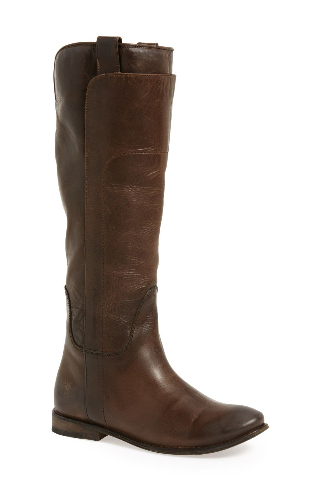'Paige' Tall Riding Boot,                             Main thumbnail 1, color,                             020