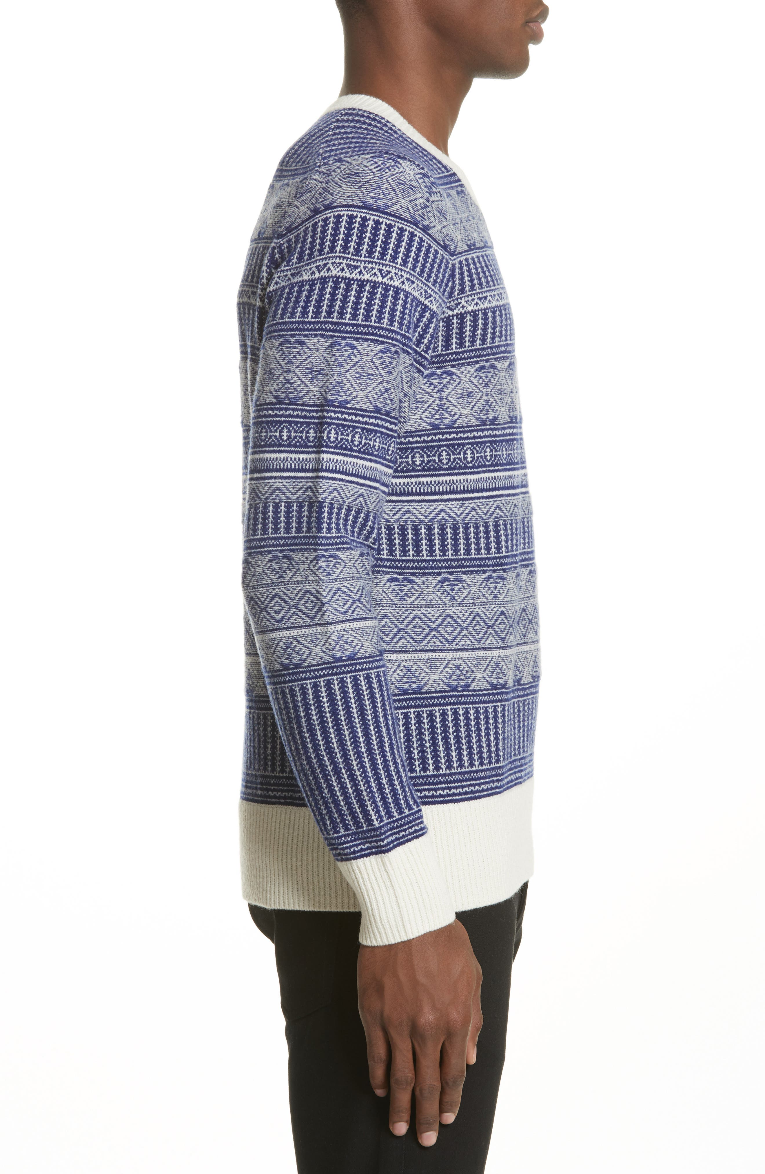 Tredway Wool & Cashmere Sweater,                             Alternate thumbnail 3, color,                             410