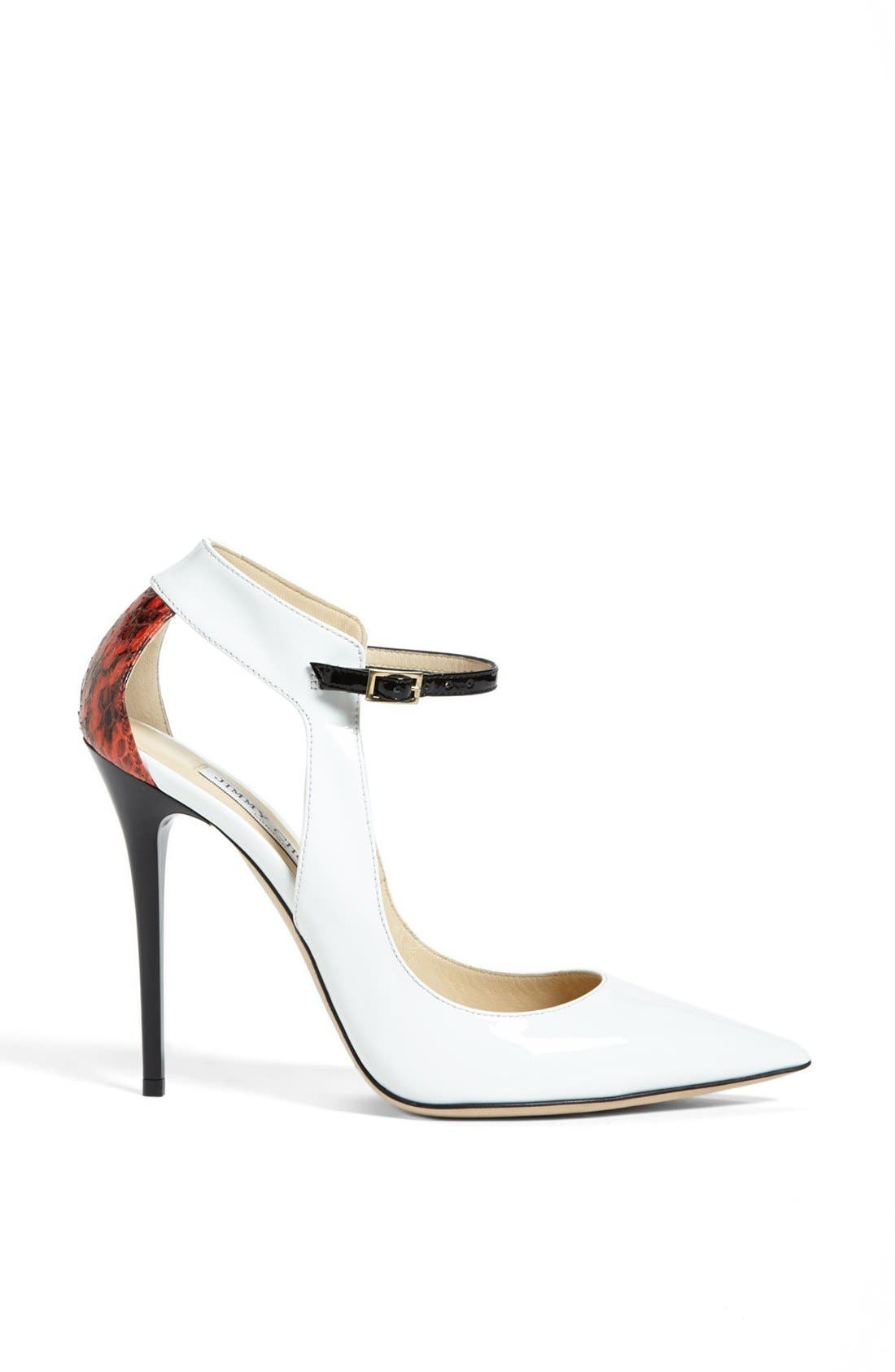 'Maiden' Pointy Toe Pump,                             Alternate thumbnail 3, color,                             100