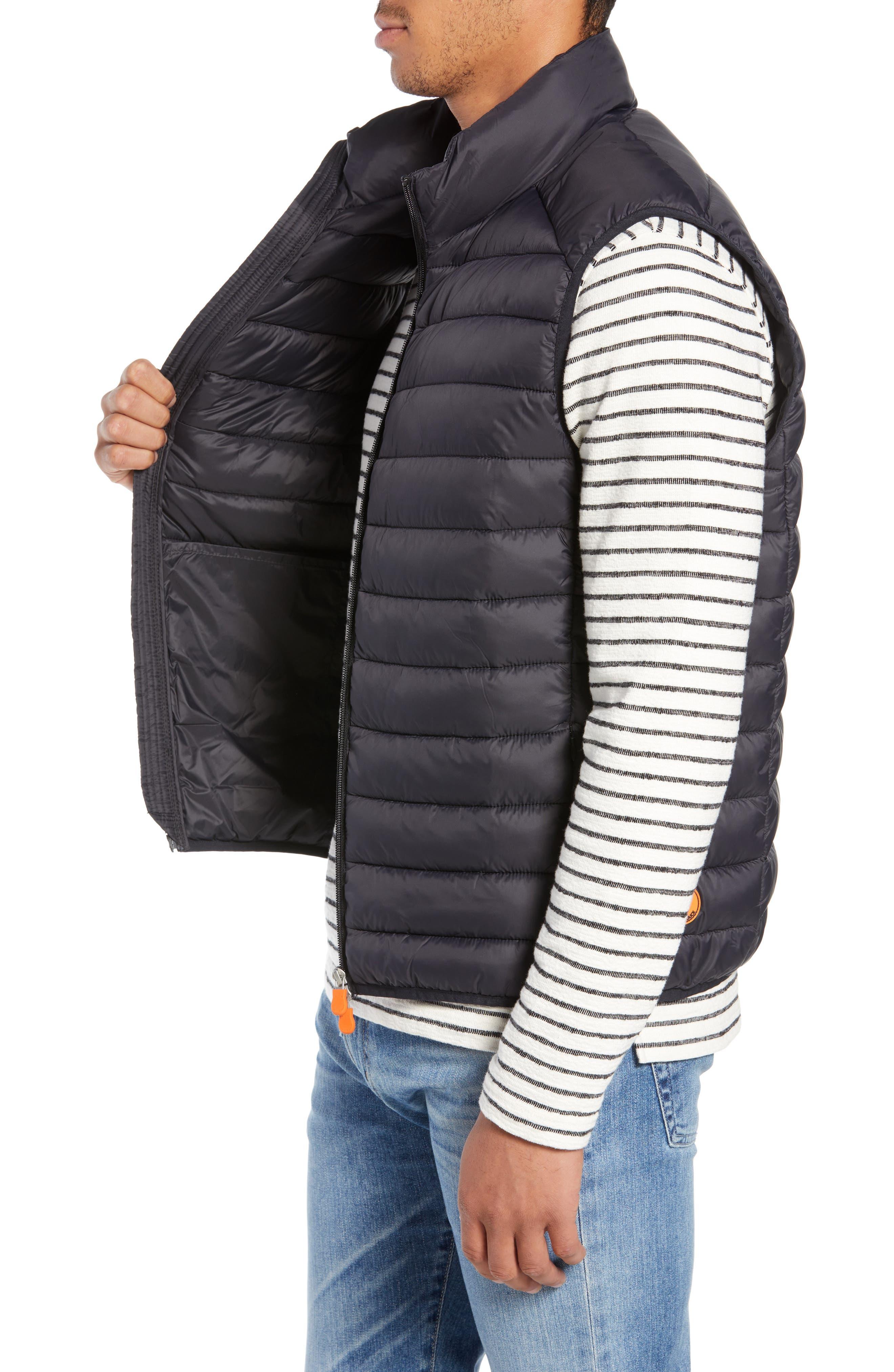 Lightweight Packable Vest,                             Alternate thumbnail 3, color,                             BLACK