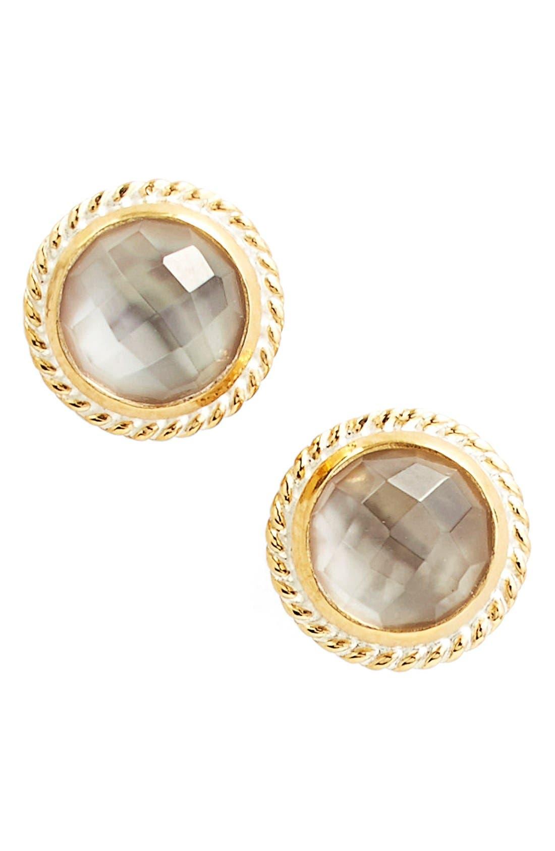 Stone Stud Earrings,                             Main thumbnail 10, color,